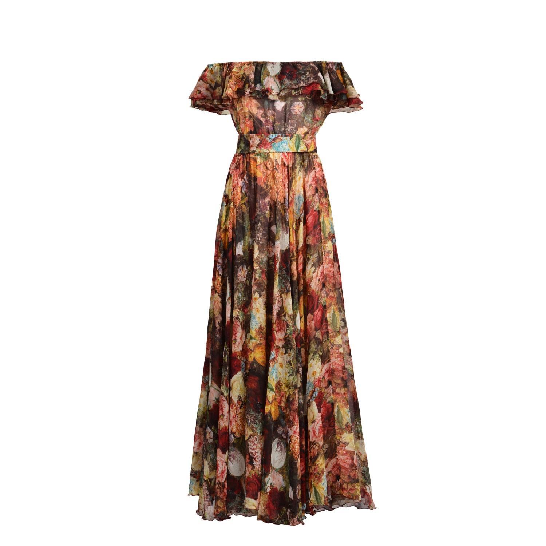 Lyst - Matsour\'I Margo Silk Dress