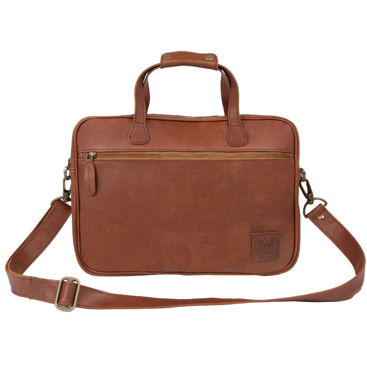 Mahi Leather Compact Satchel Bag In Vintage Brown Tas Tumi Alpha 2 Hanging Travel Kit Mens