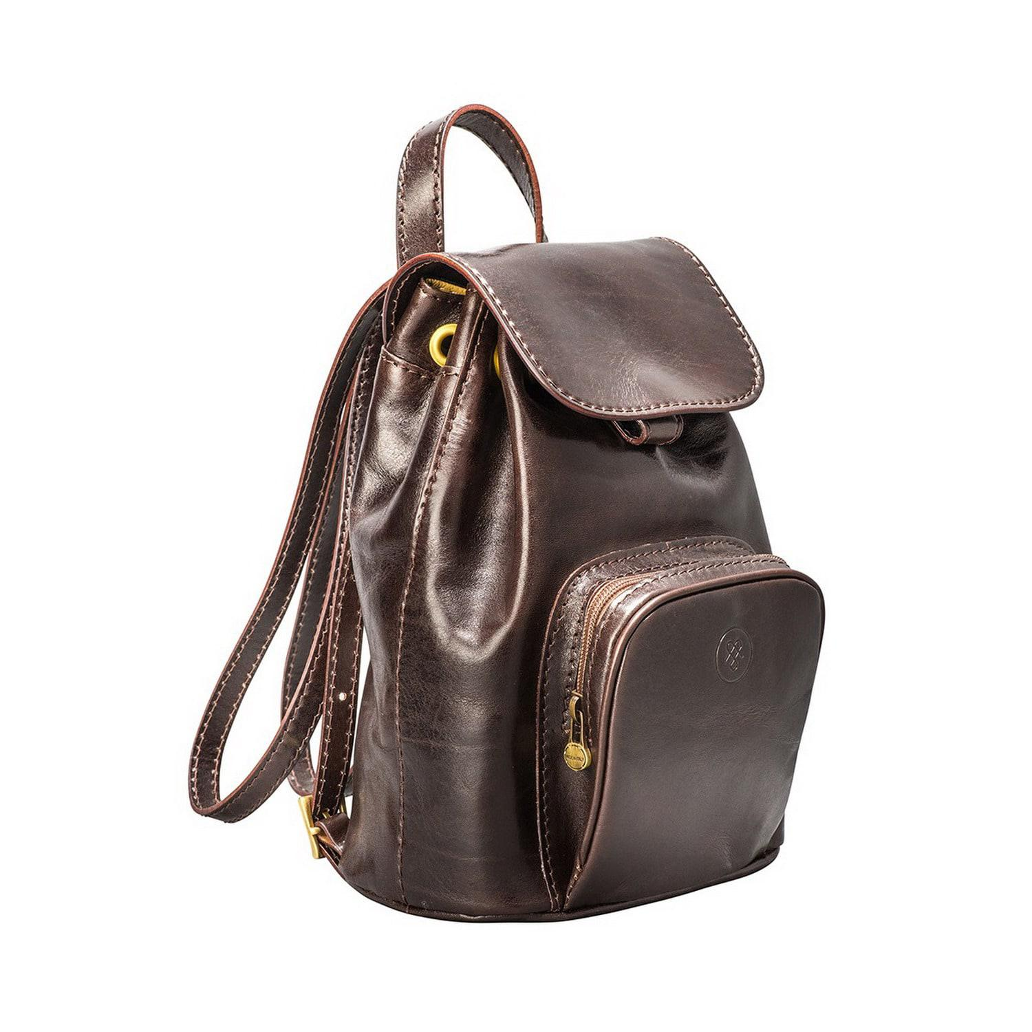 bed4e3b982f Maxwell Scott Bags Luxury Italian Leather Ladies Small Rucksack ...