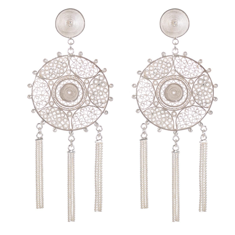 Vanilo Pandora Earrings Silver Qg3nbV9
