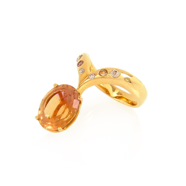Alexandra Alberta Guggenheim Malachite Ring - UK L - US 5 1/2 - EU 51 3/4 vGTQR87g