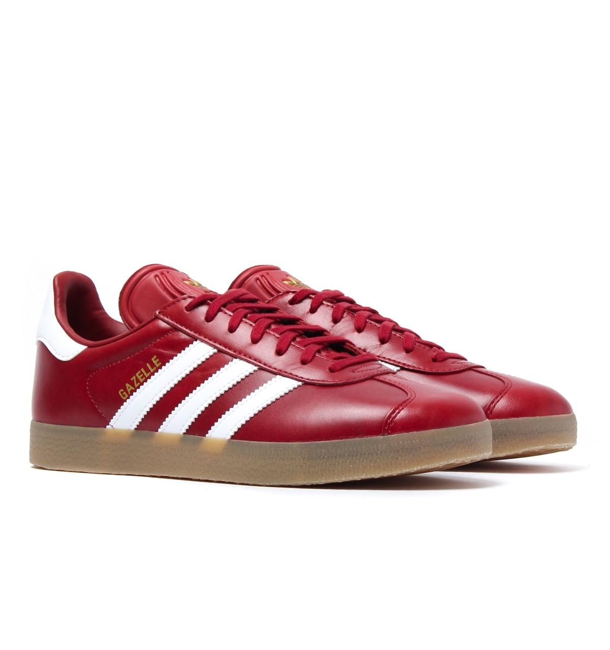 Saint Laurent Men Shoes Red Stripes
