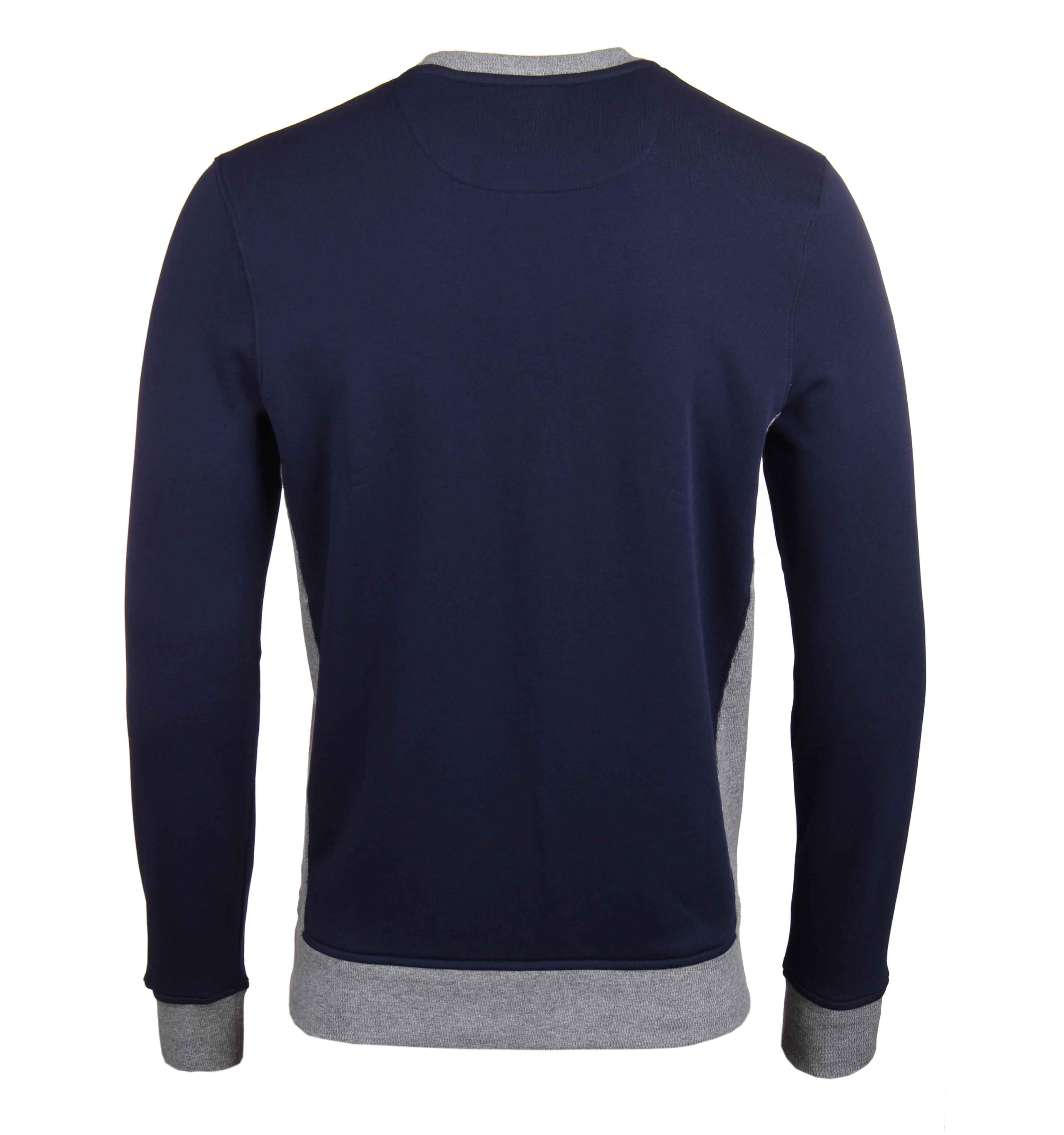 Mens Contrast Rib Crew Neck Sweatshirt Lyle & Scott Top Quality Cheap Online Discount Official Site Fashionable Cheap Online Choice For Sale Sale Footlocker Finishline npAl0pHjZw