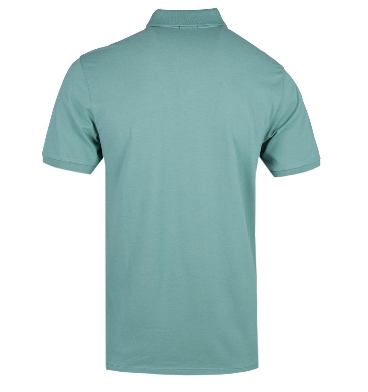 2a0bfb73 BOSS - Pallas Green Polo Shirt for Men - Lyst. View fullscreen