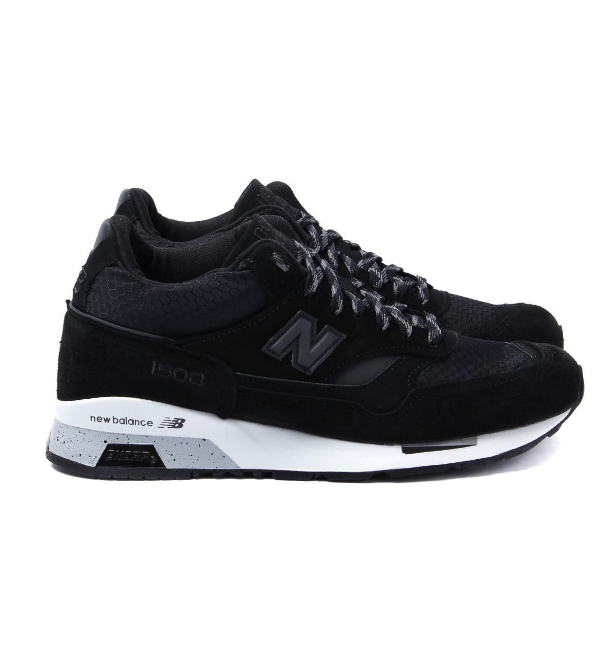 9a391a5183ef2 New Balance 1500 Black Runner Trainers in Black for Men - Lyst