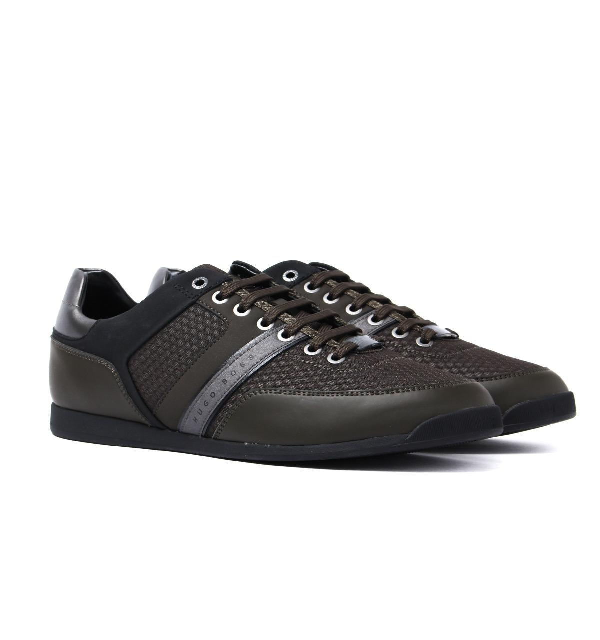 Mens Maze_Lowp_air Trainers, Black HUGO BOSS