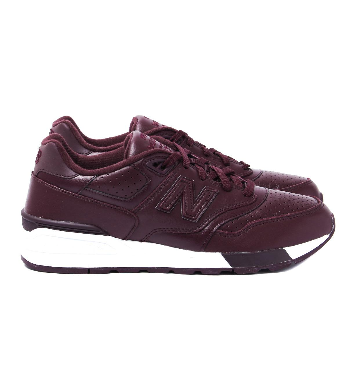 c1ed62b582c Lyst - New Balance 597 Deep Purple Leather Trainers in Purple for Men