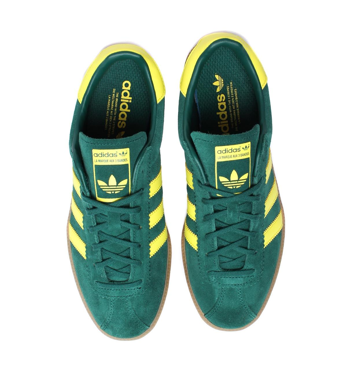 Lyst - adidas Originals Bermuda Collegiate Green   Shock Yellow ... 9f0e91153