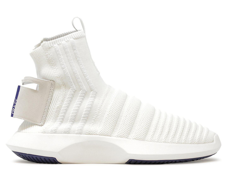 promo code 2ae4e 97409 Lyst - adidas Originals Crazy 1 Adv Sock Pk (asw) in White for Men