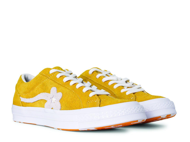 bdf49c3a18aa4e Lyst - Converse One Star X Golf Le Fleur in Yellow for Men