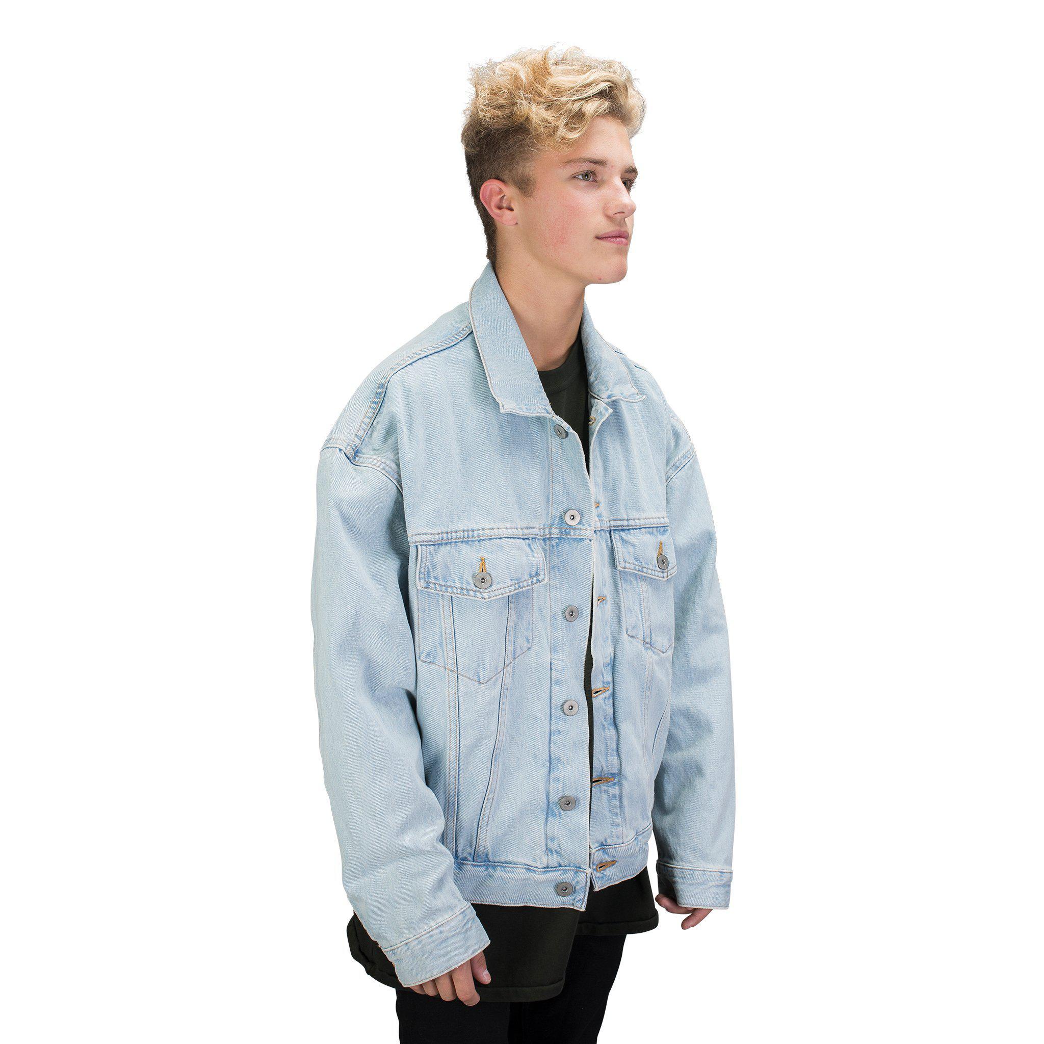 a84705455c5 Lyst - Yeezy Classic Jean Jacket in Blue for Men