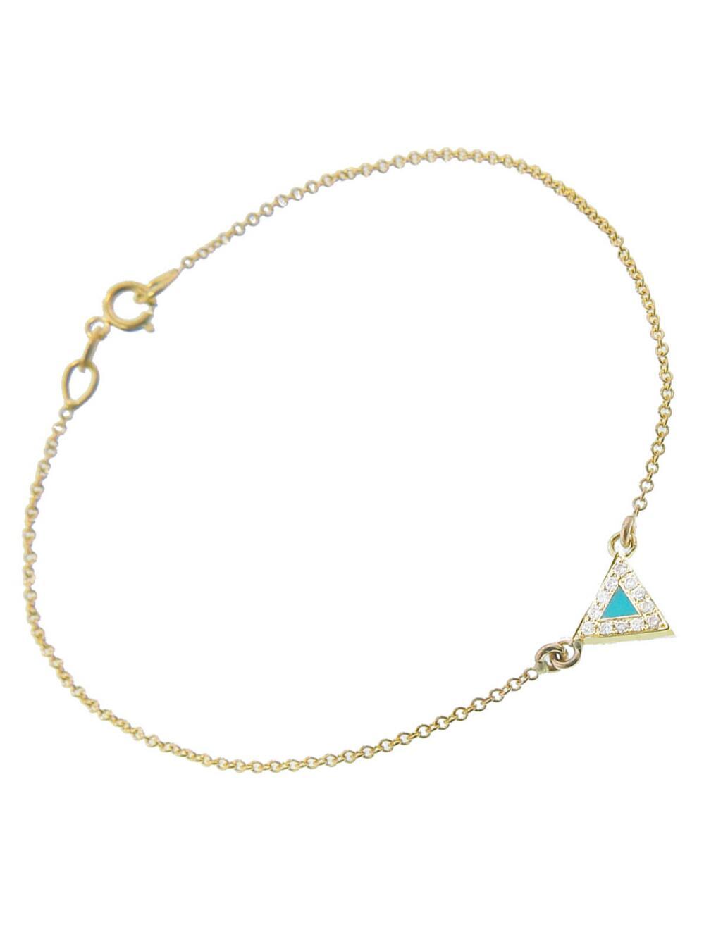 Jennifer Meyer Womens Opal Triangle Bracelet DOpV1