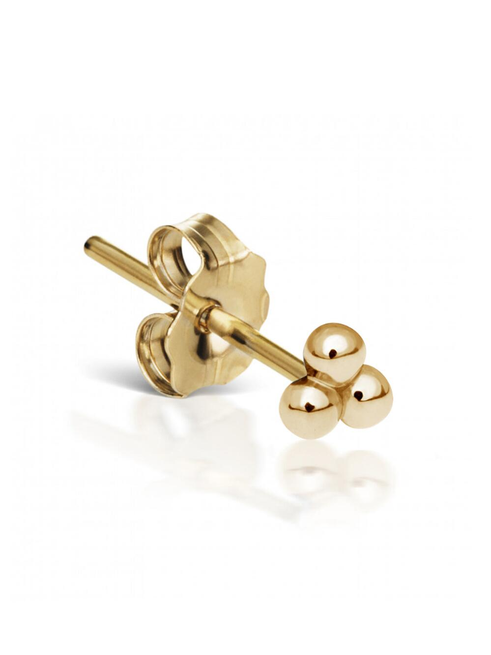 gucci earrings gold context the large g double stud p beaverbrooks