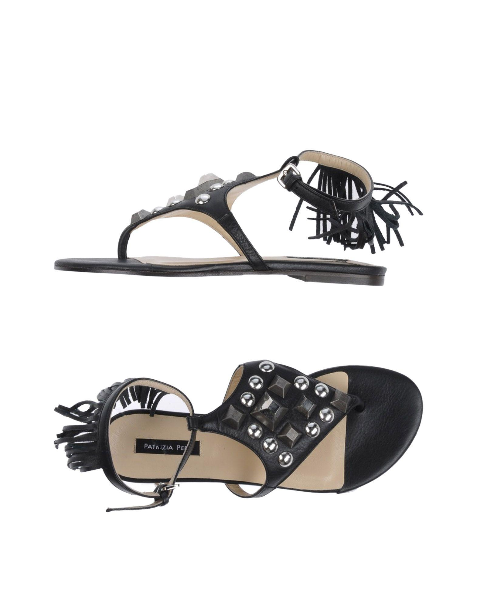 FOOTWEAR - Toe post sandals Patrizia Pepe