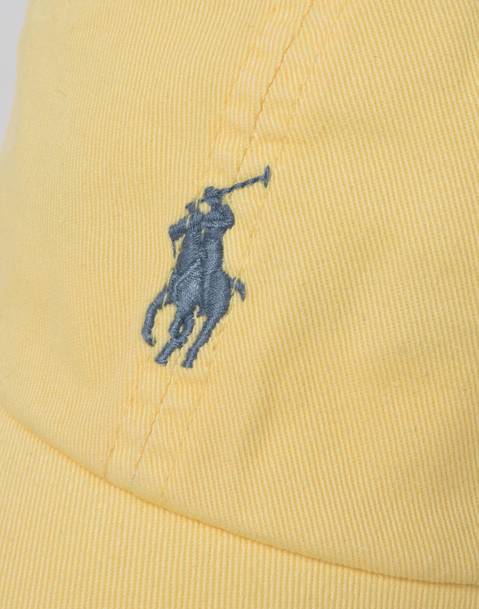184844e7d36 Lyst - Chapeau Polo Ralph Lauren pour homme en coloris Jaune