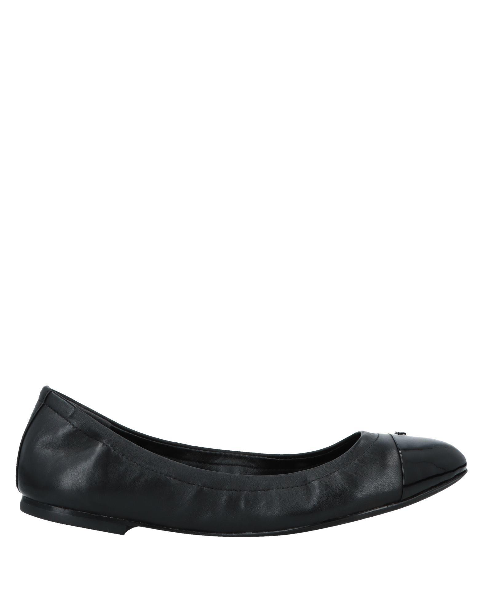 c9bbc958396 Lyst - Tory Burch Ballet Flats in Black