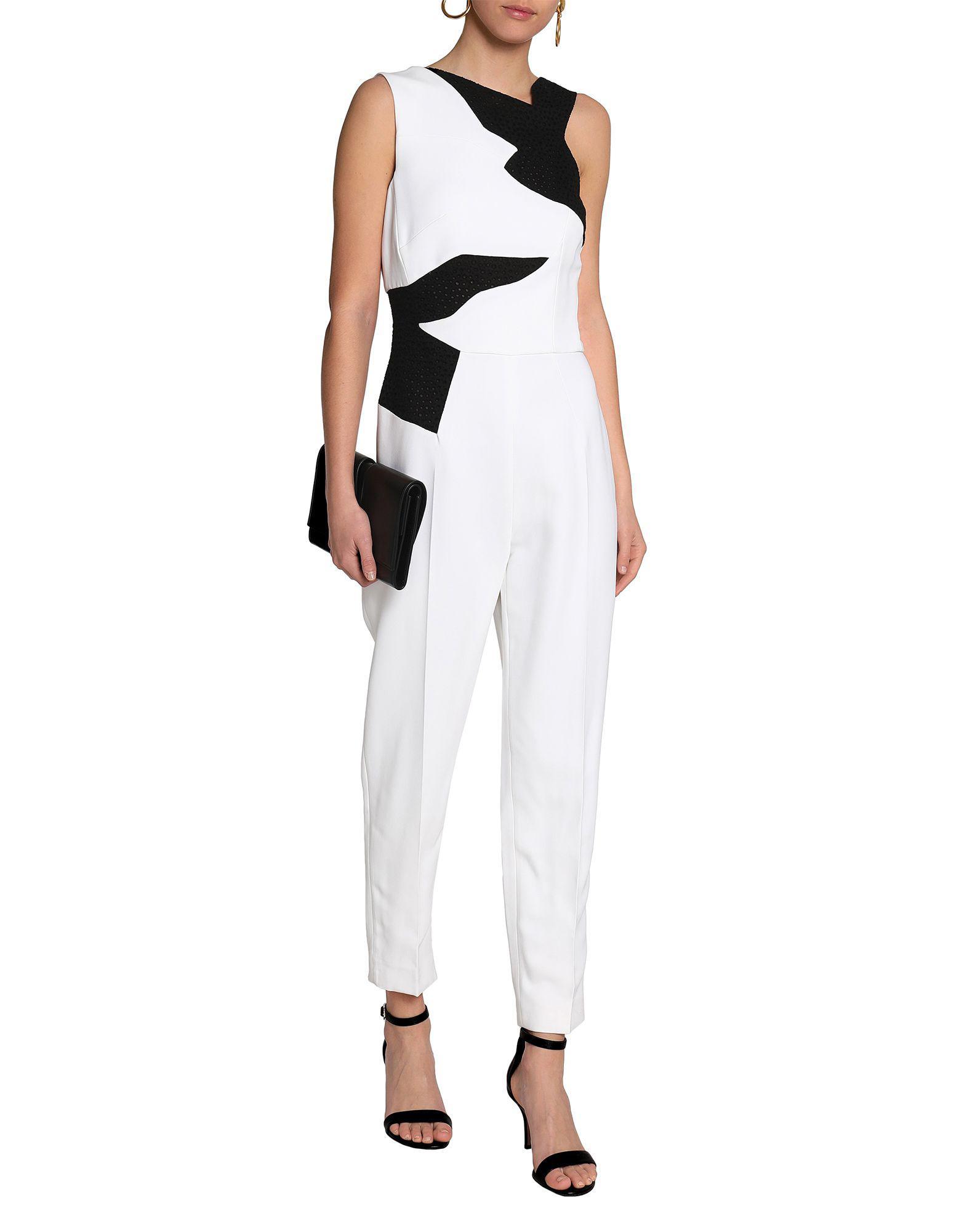 59e05a9b2c48 Antonio Berardi - White Jumpsuit - Lyst. View fullscreen