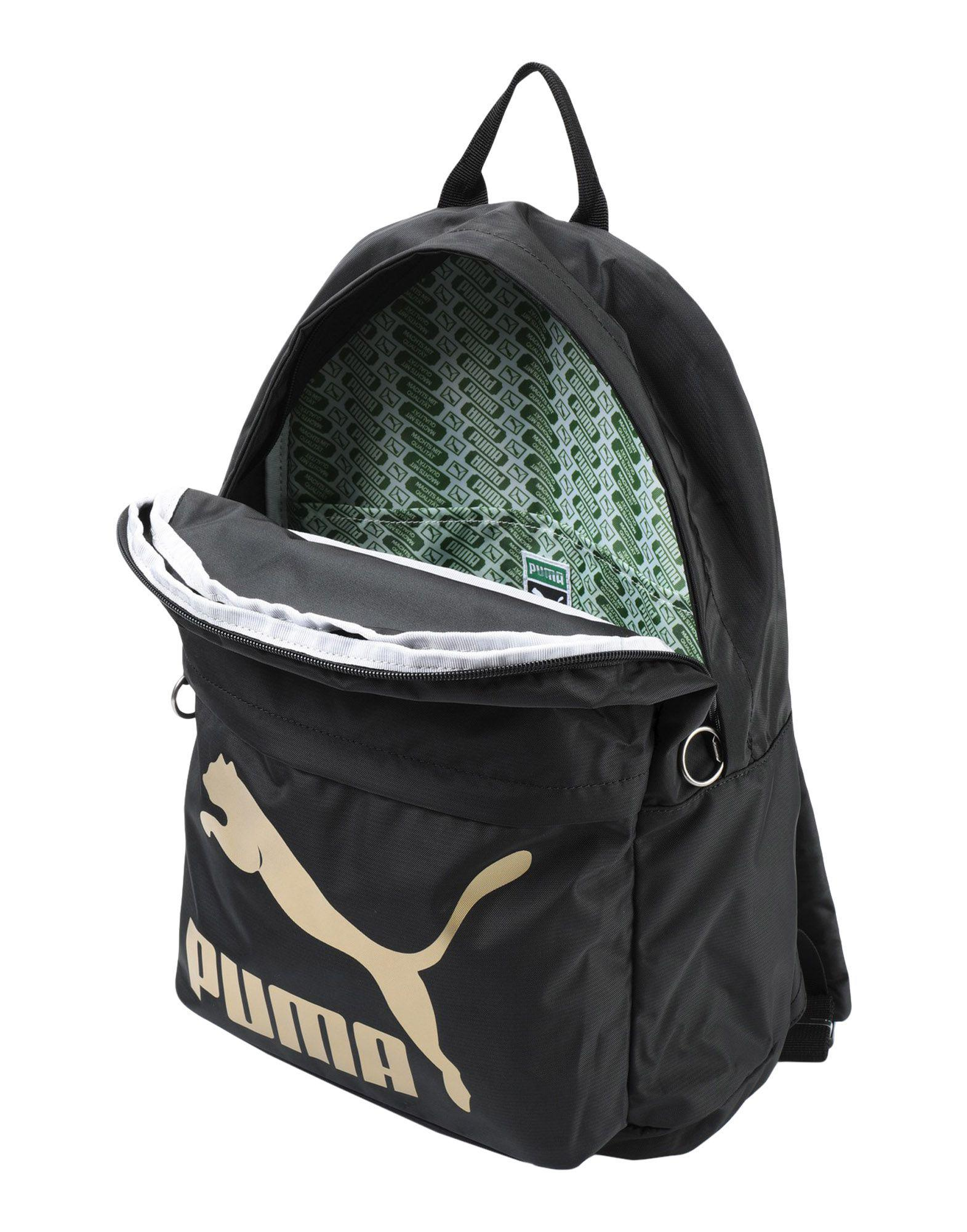 26cc5f1d26 PUMA Backpacks   Bum Bags in Black - Lyst