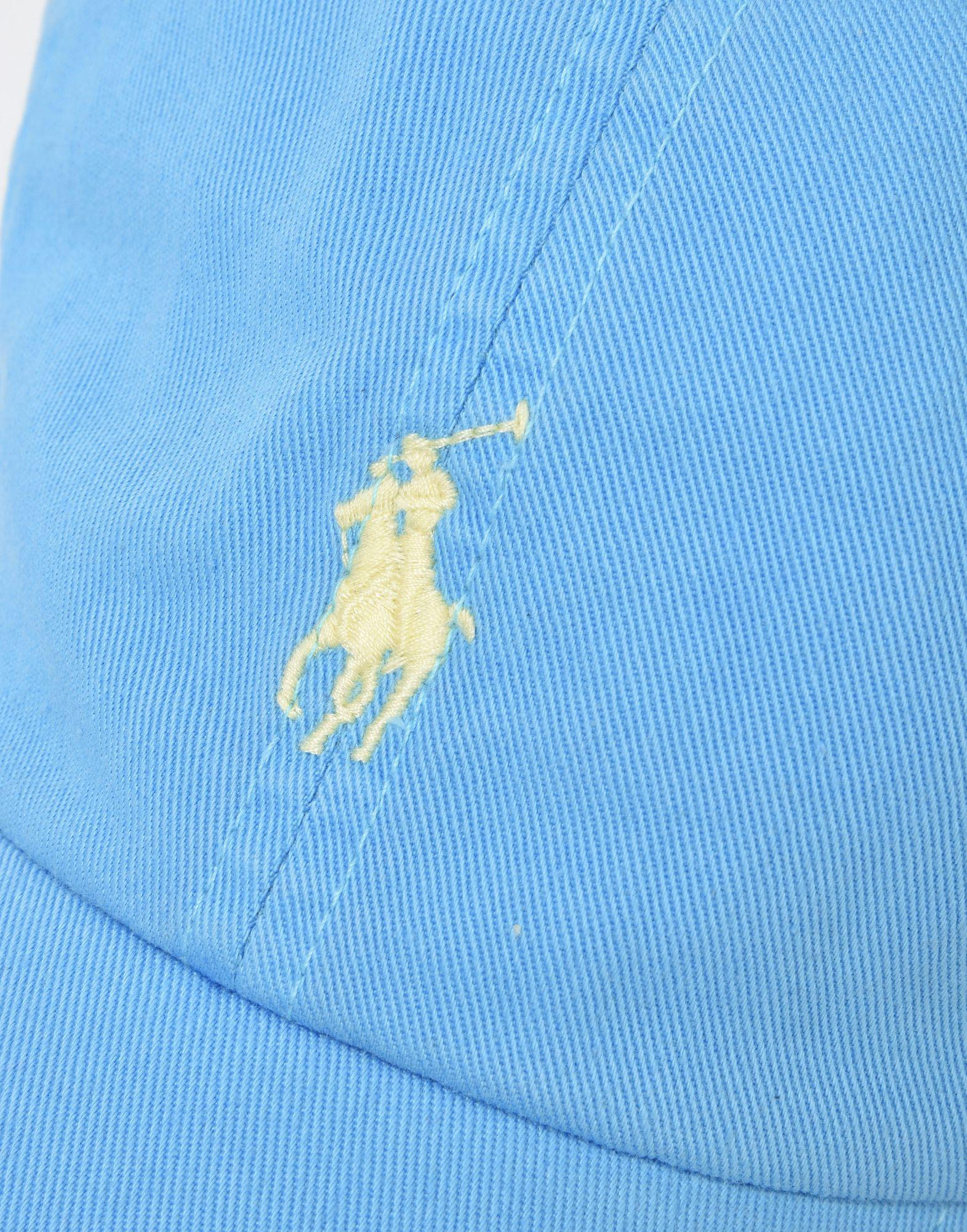 Lyst - Chapeau Polo Ralph Lauren pour homme en coloris Bleu c9824b3942c