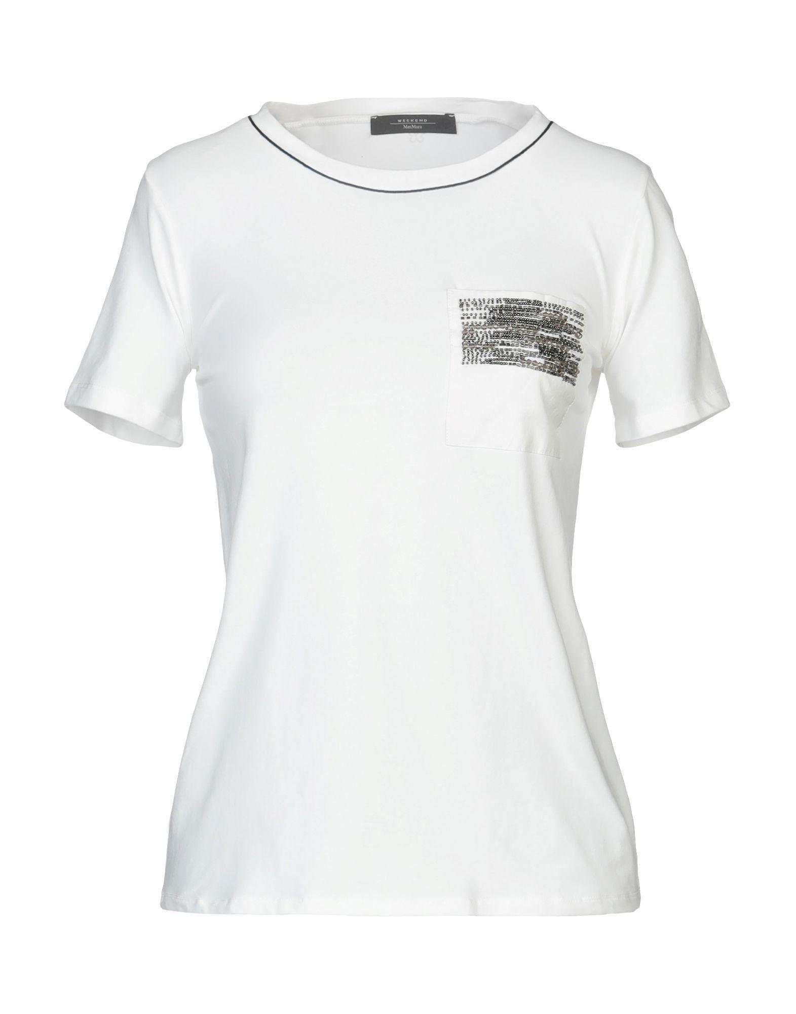 By In Weekend White Lyst T Maxmara Shirt 08nvmNw