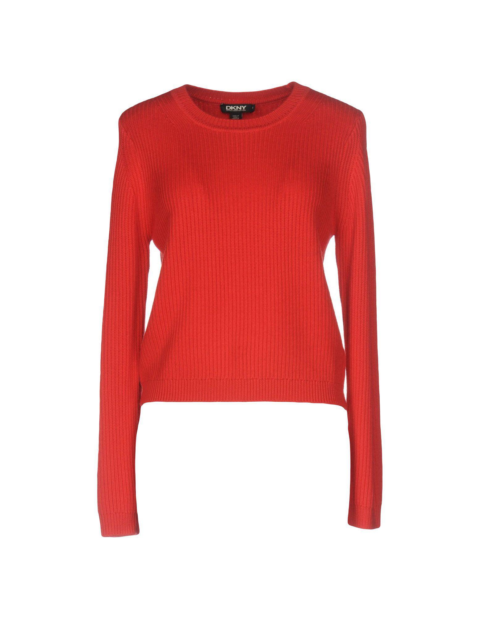 06250d9fb21 DKNY - Red Sweater - Lyst. View fullscreen