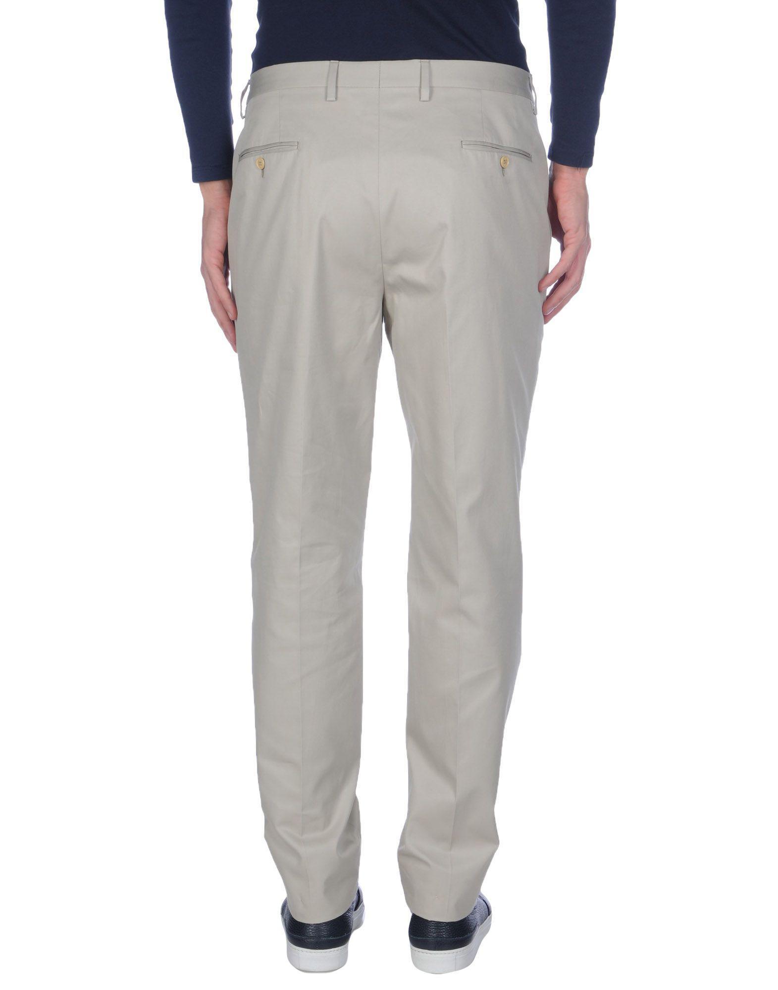 TROUSERS - Casual trousers Piombo XJ1Pb0x