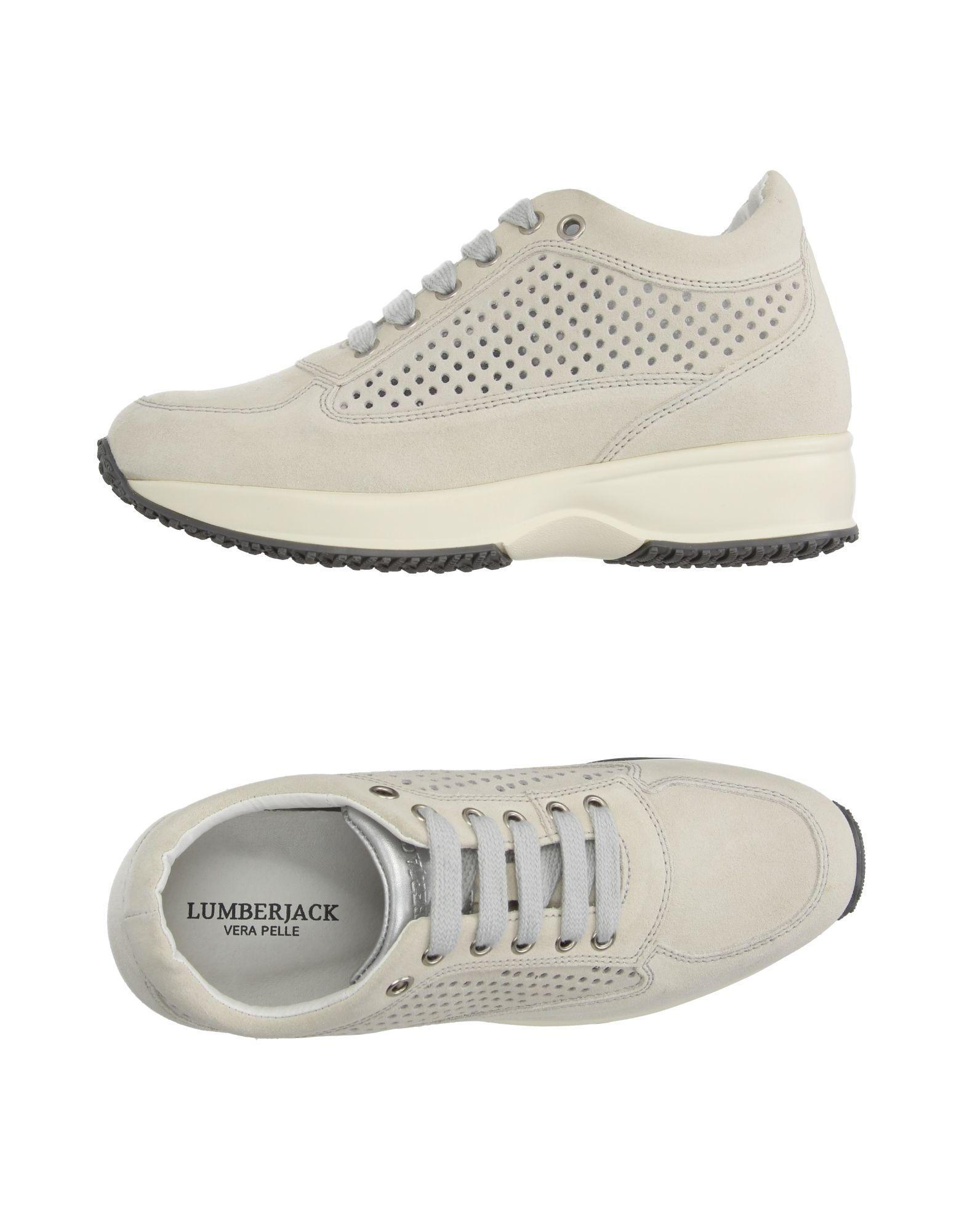 a3aa1fa2385a1a Lyst - Lumberjack Low-tops   Sneakers in White