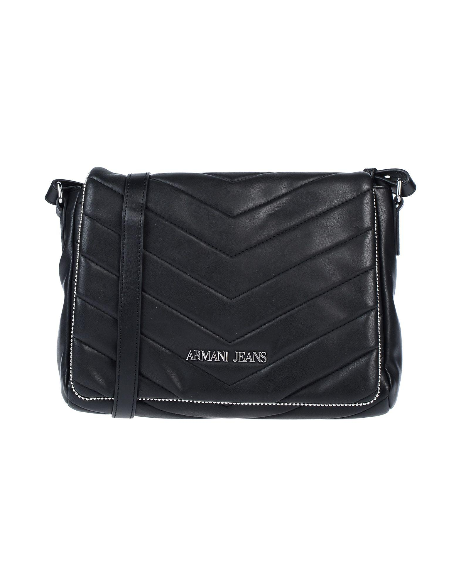 607f9777bd Armani Jeans - Black Cross-body Bag - Lyst. View fullscreen