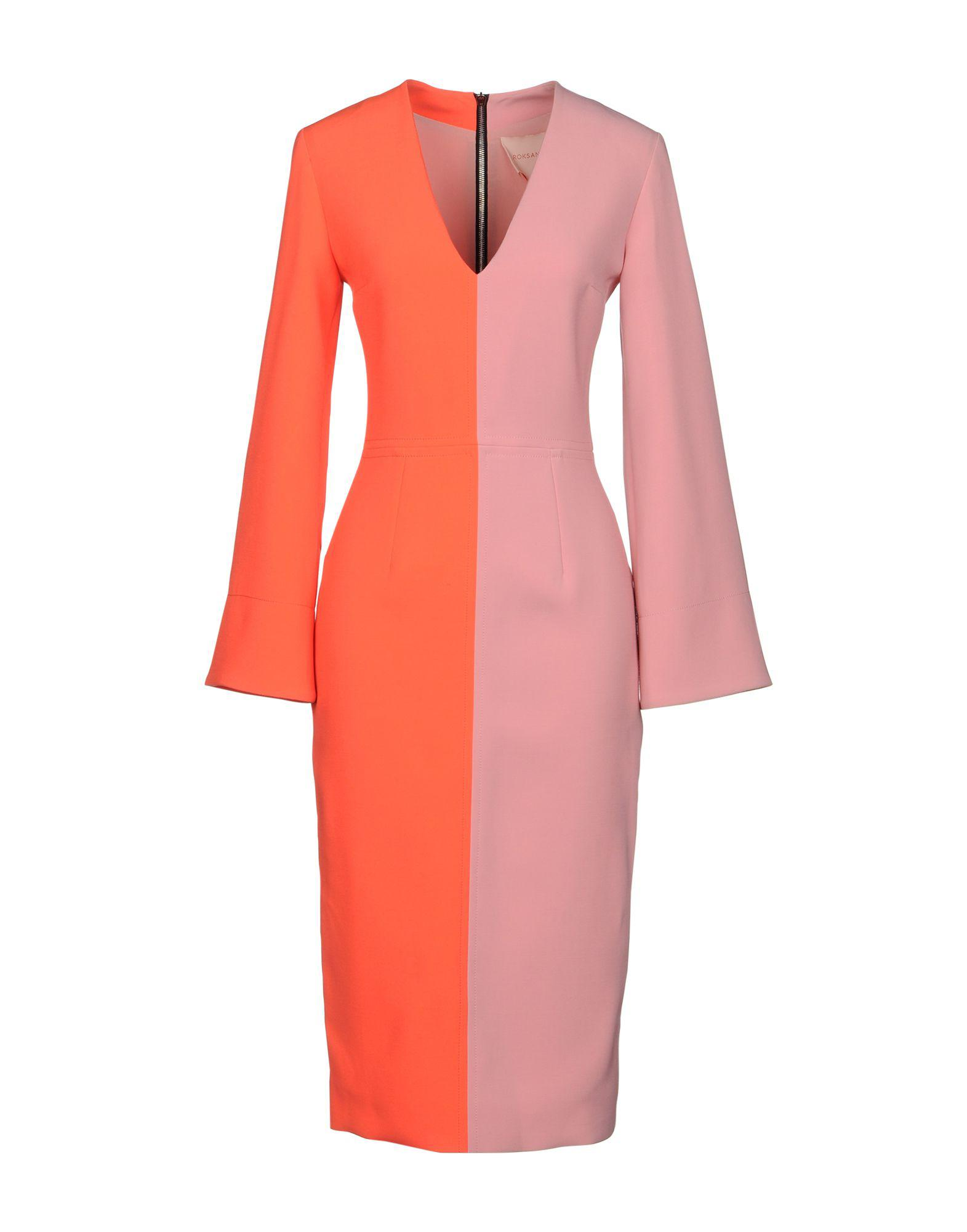 DRESSES - Knee-length dresses Roksanda Ilincic Low Price Fee Shipping aQkmyVUKB