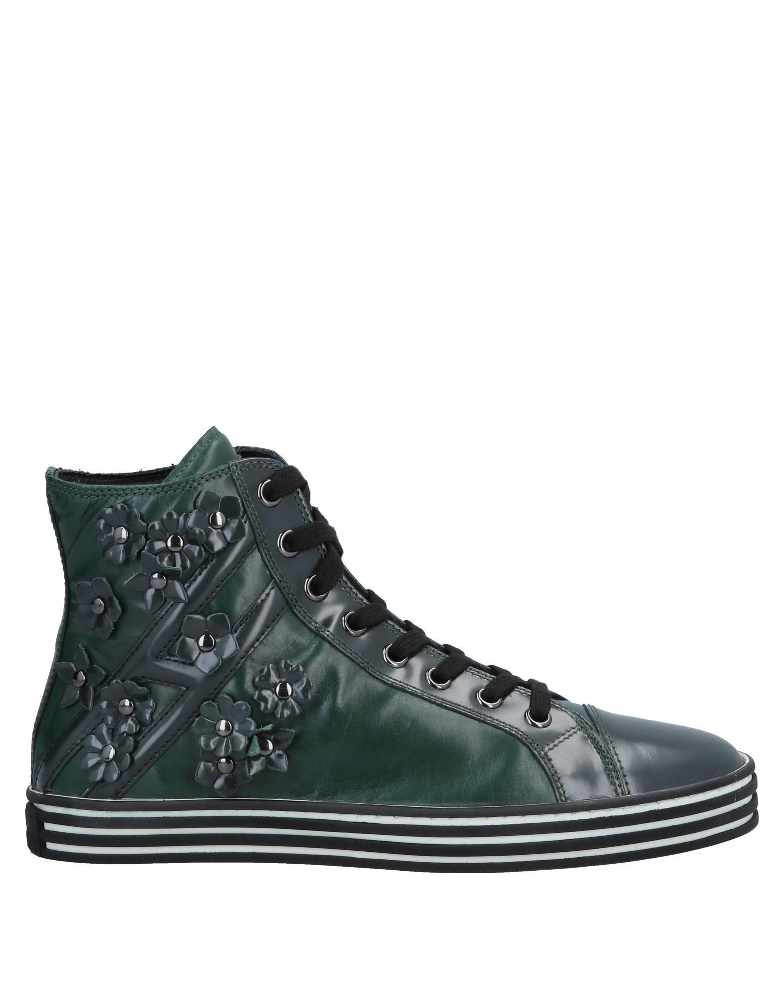 8746d217dcd Hogan Rebel High-tops   Sneakers in Green - Lyst