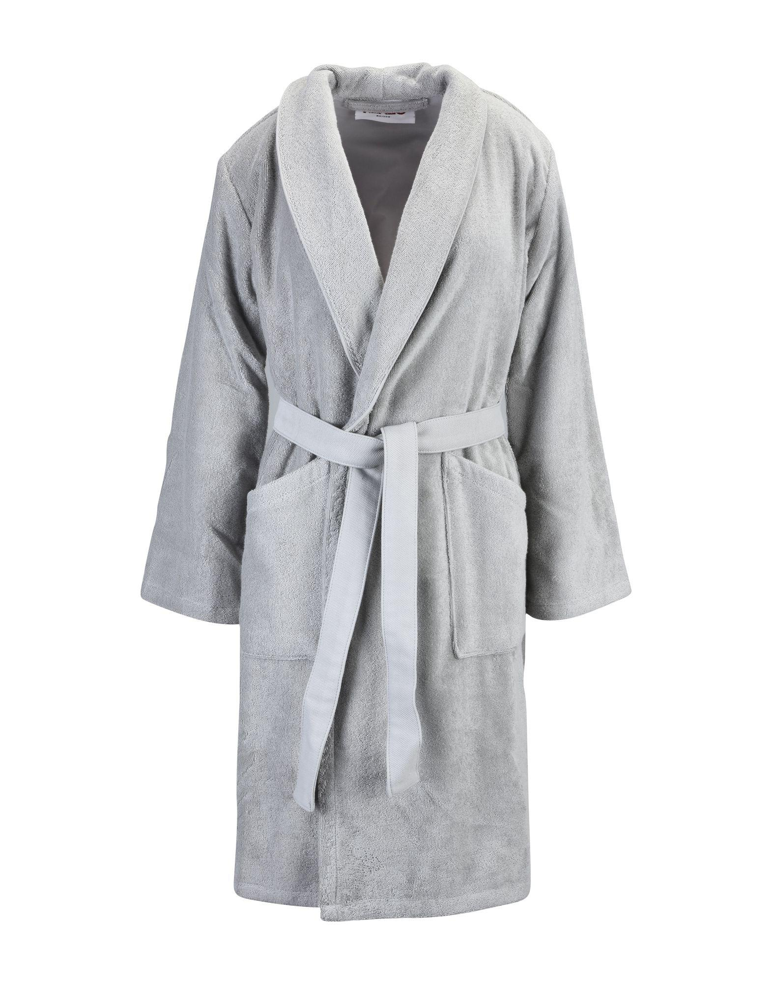KENZO Towelling Dressing Gown in Gray for Men - Lyst 0e527effa