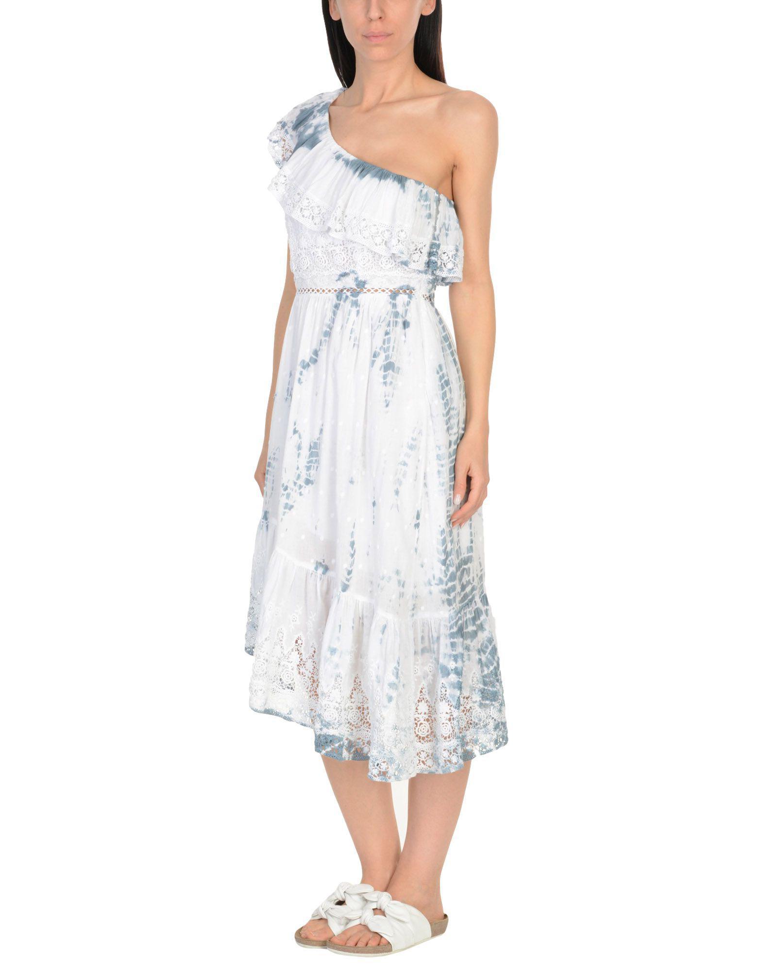 50a6fc8bd2 LoveShackFancy - White Beach Dress - Lyst. View fullscreen