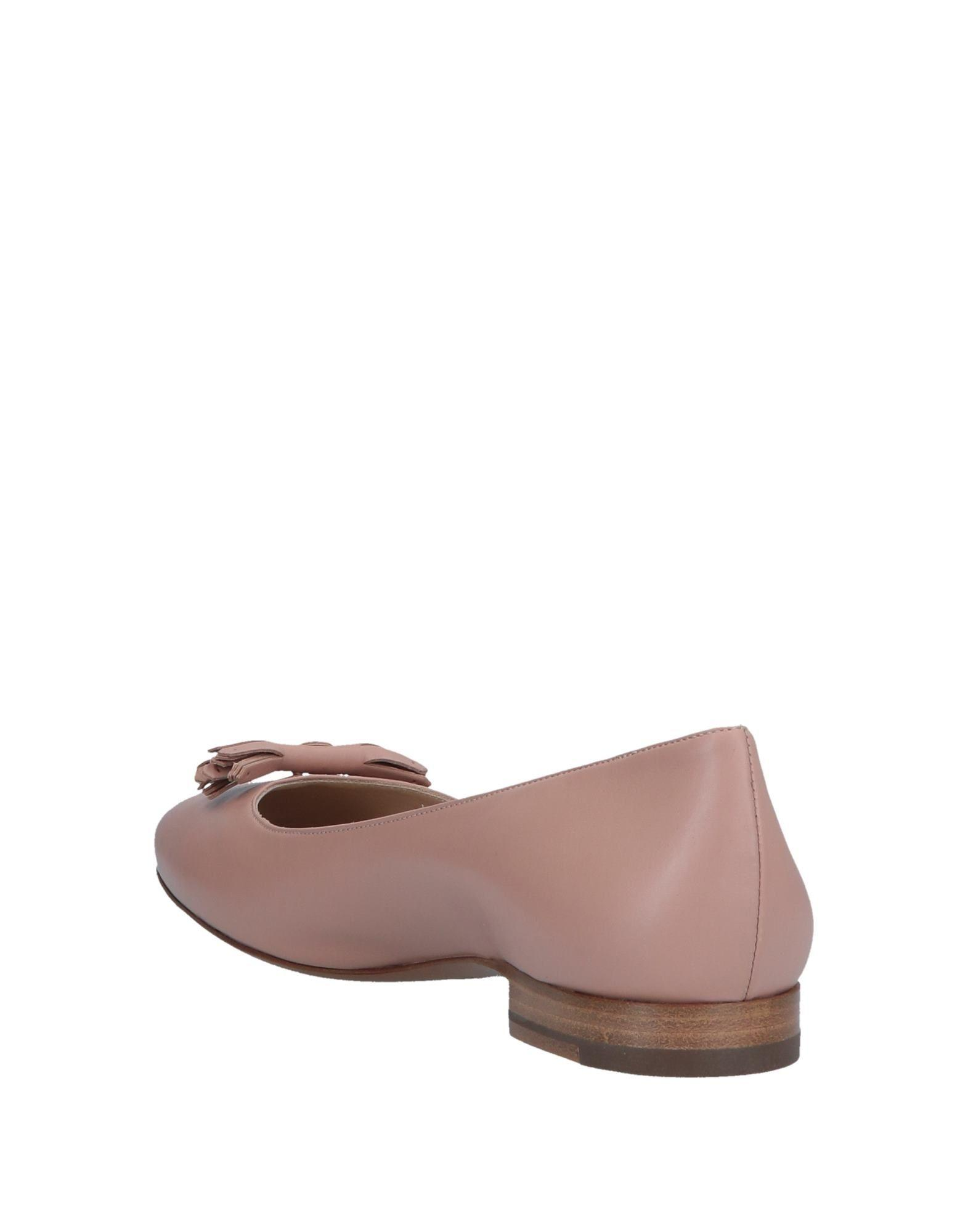 f61dc5be3 Lyst - Fratelli Rossetti Ballet Flats in Pink