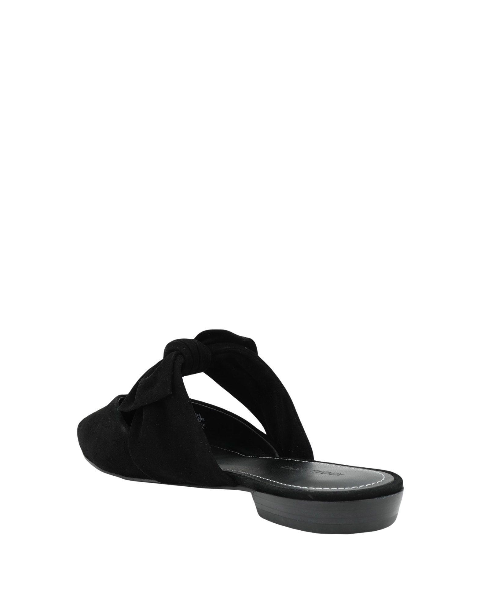 KendallKylie Mulesamp; De Zuecos Negro Color Lyst AjR345L