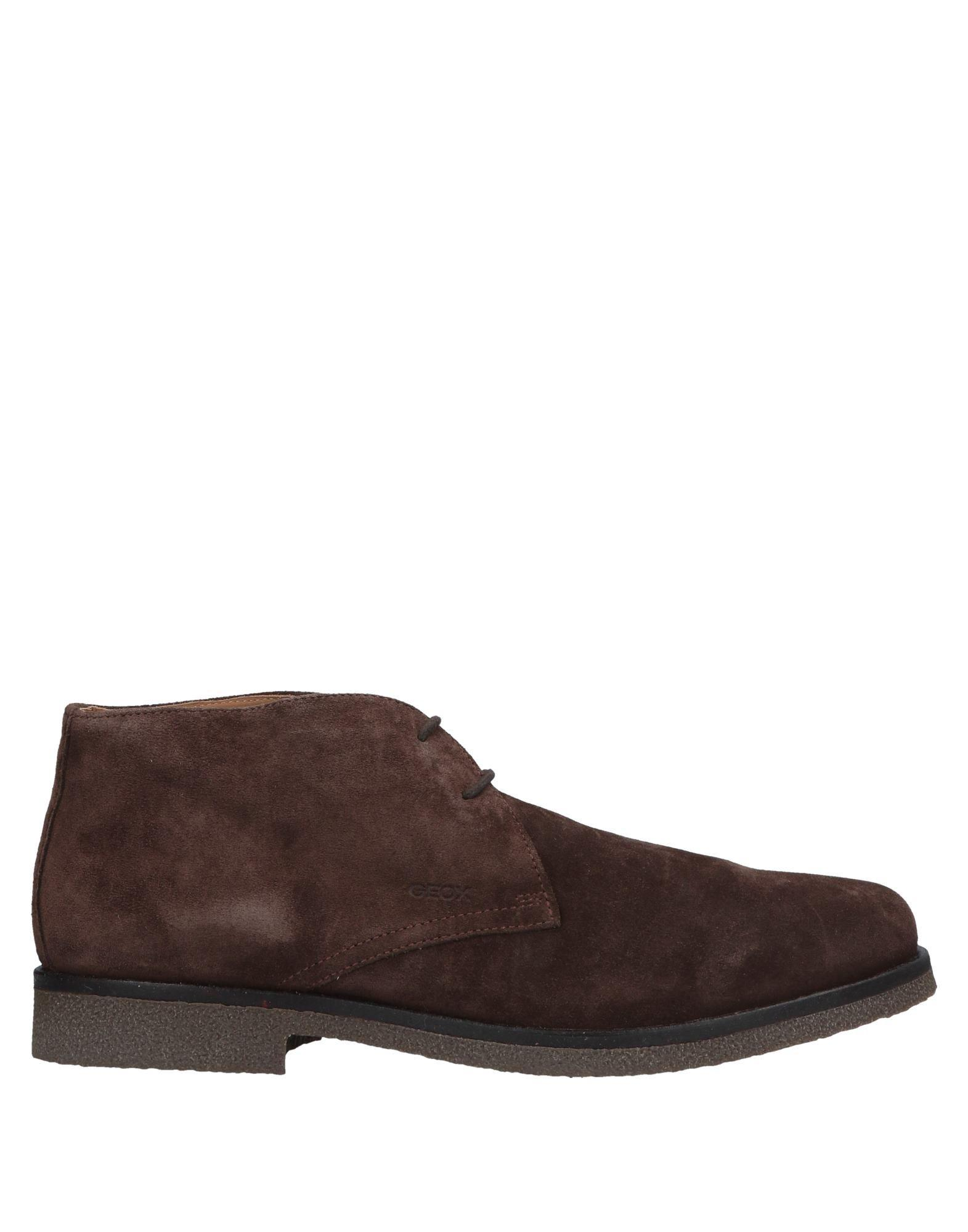 b1b972fcd83 Lyst - Geox Ankle Boots in Brown for Men