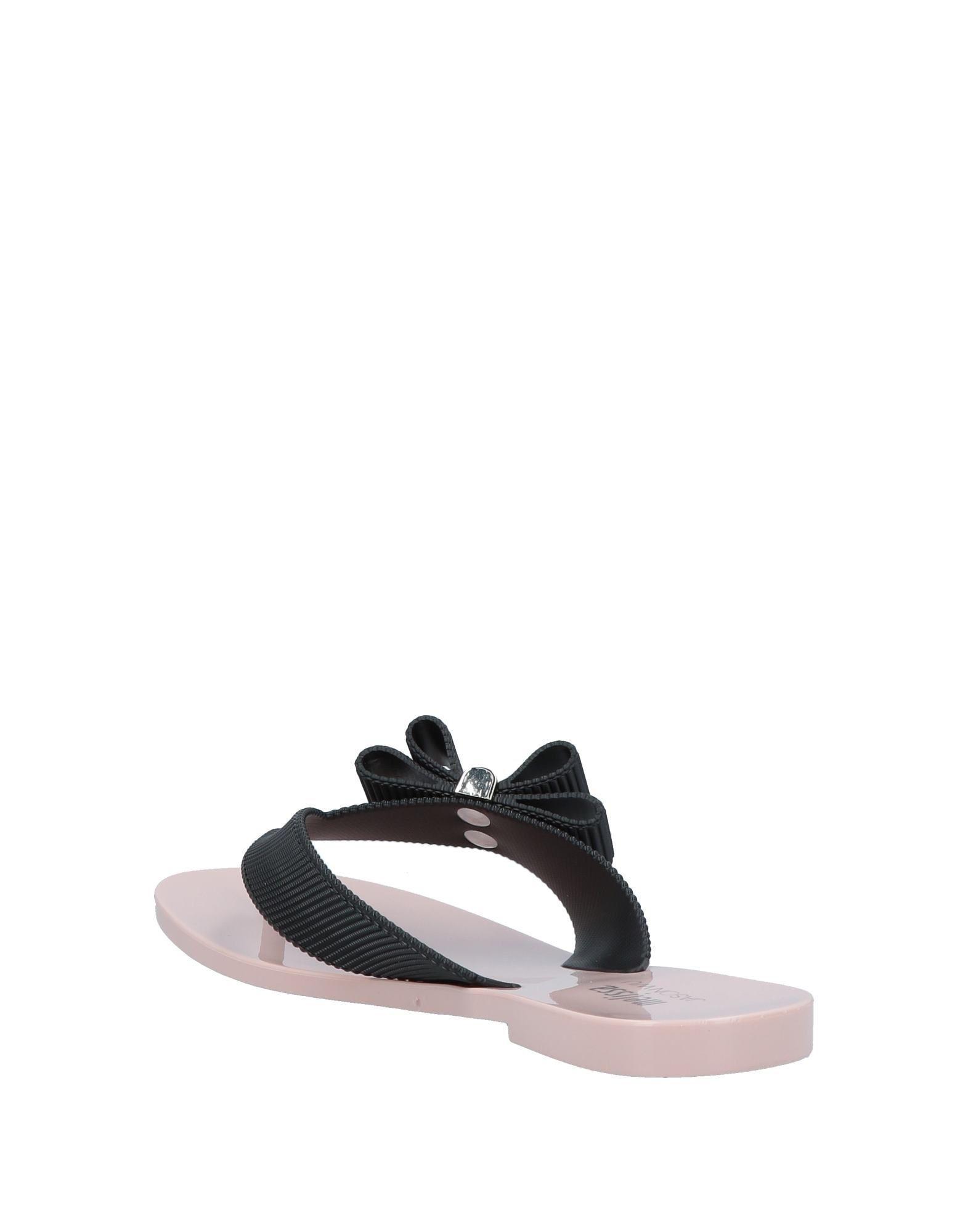 52853f96f04a4 Lyst - Melissa Toe Strap Sandal in Black