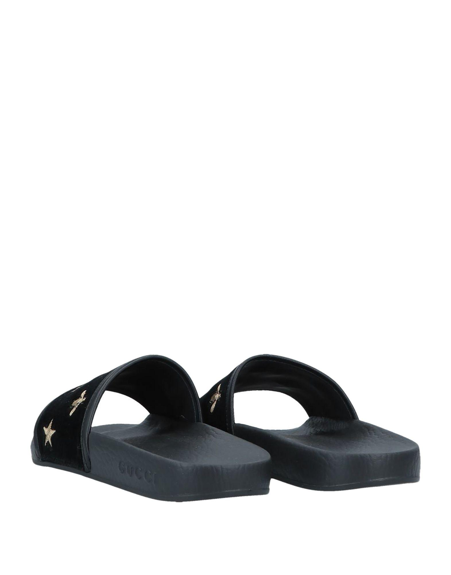 898a451910873e Lyst - Gucci Sandals in Black - Save 34%