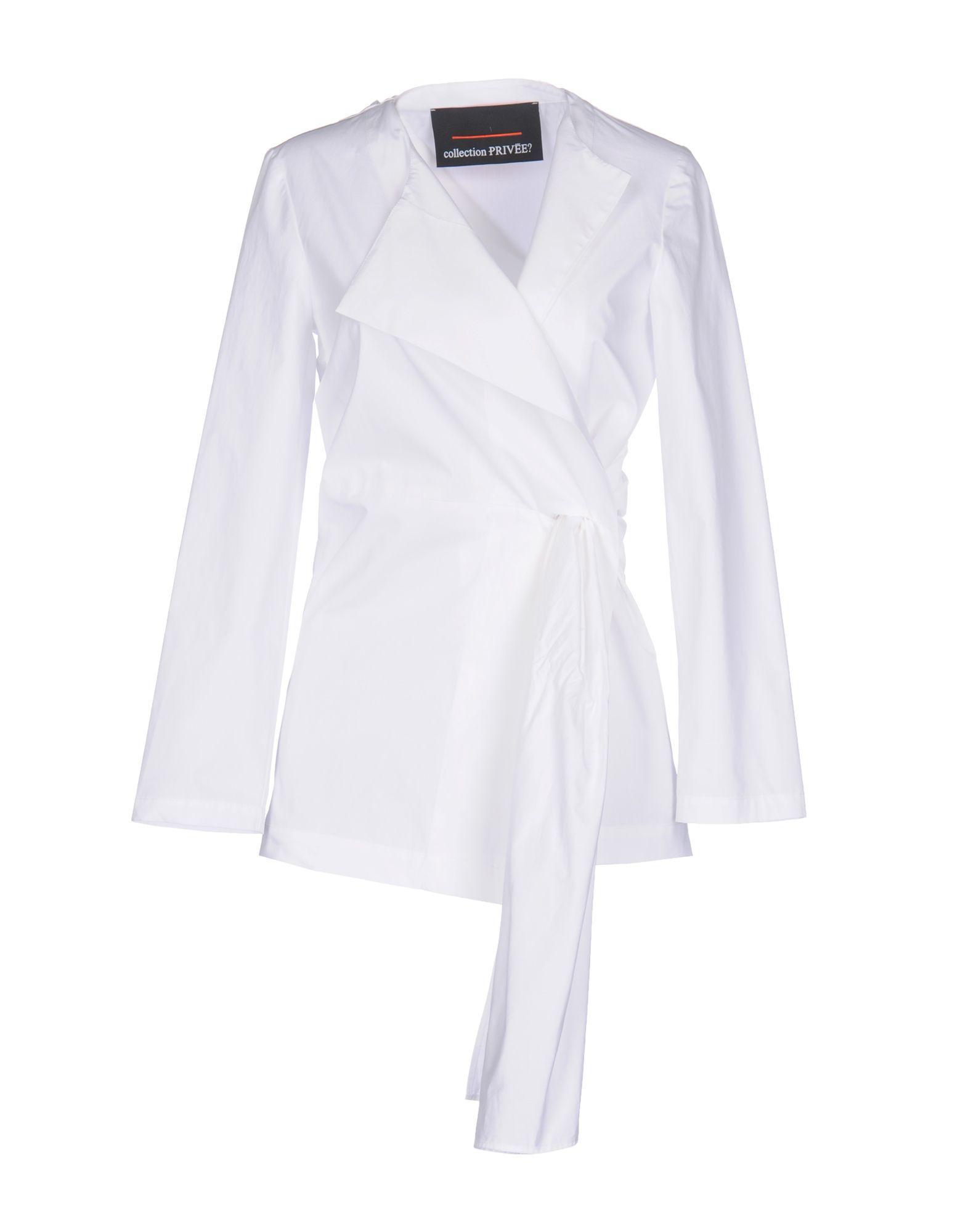 Veste Blanc Lyst Privée Collection en coloris Rqx4BTx