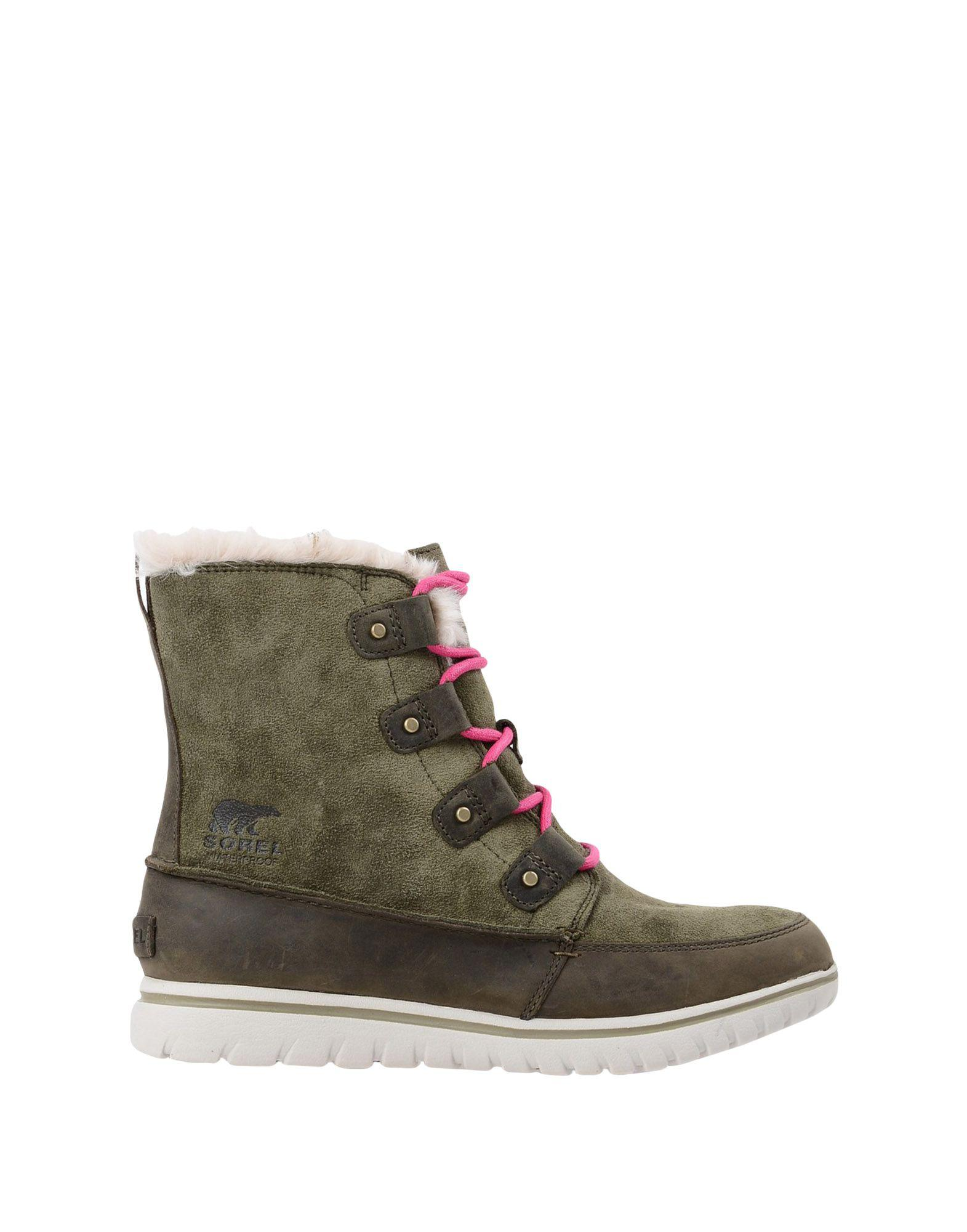 Sorel Ankle Boots In Green Lyst