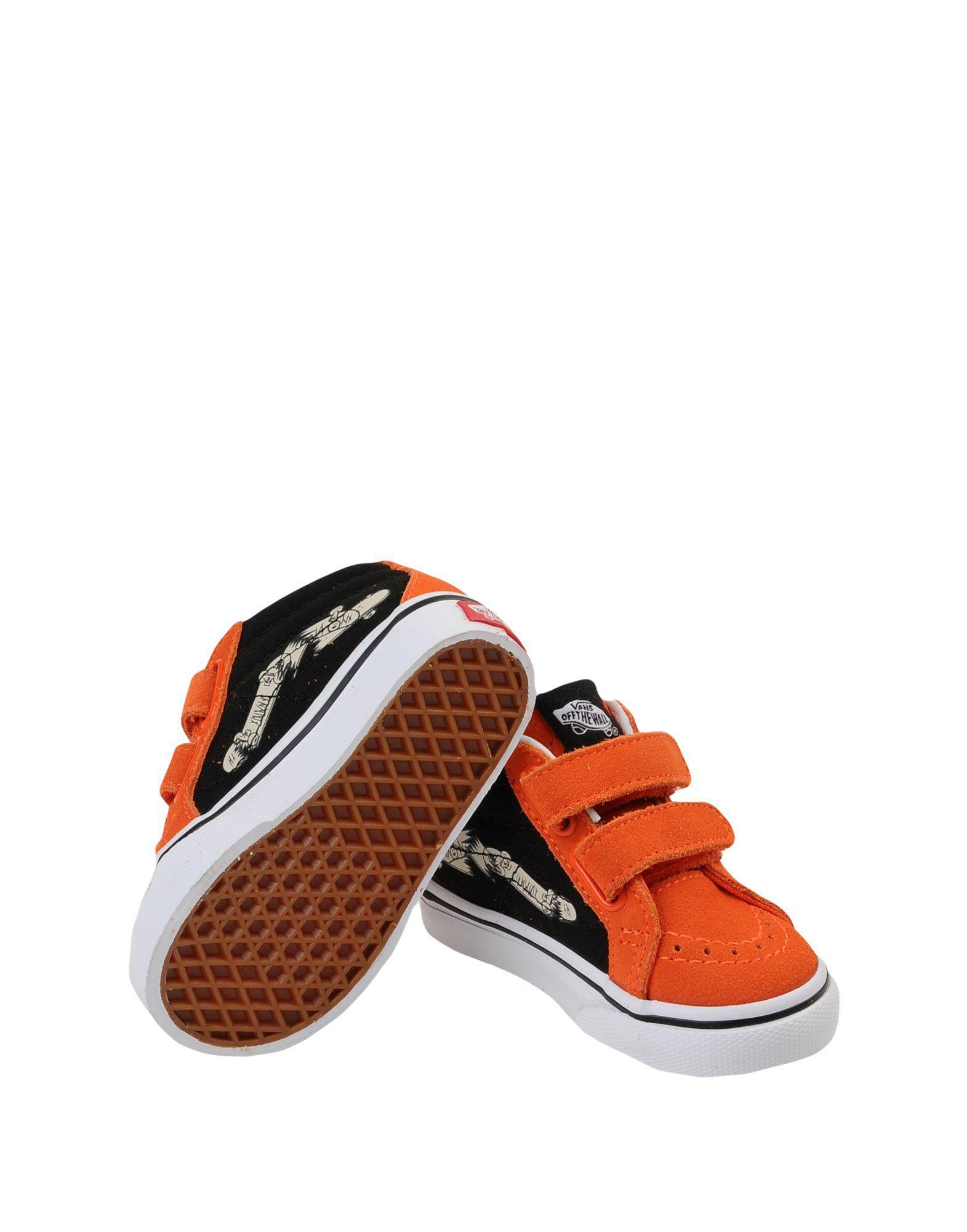 Vans Low-tops   Sneakers in Orange - Lyst 4fbc7c6a8