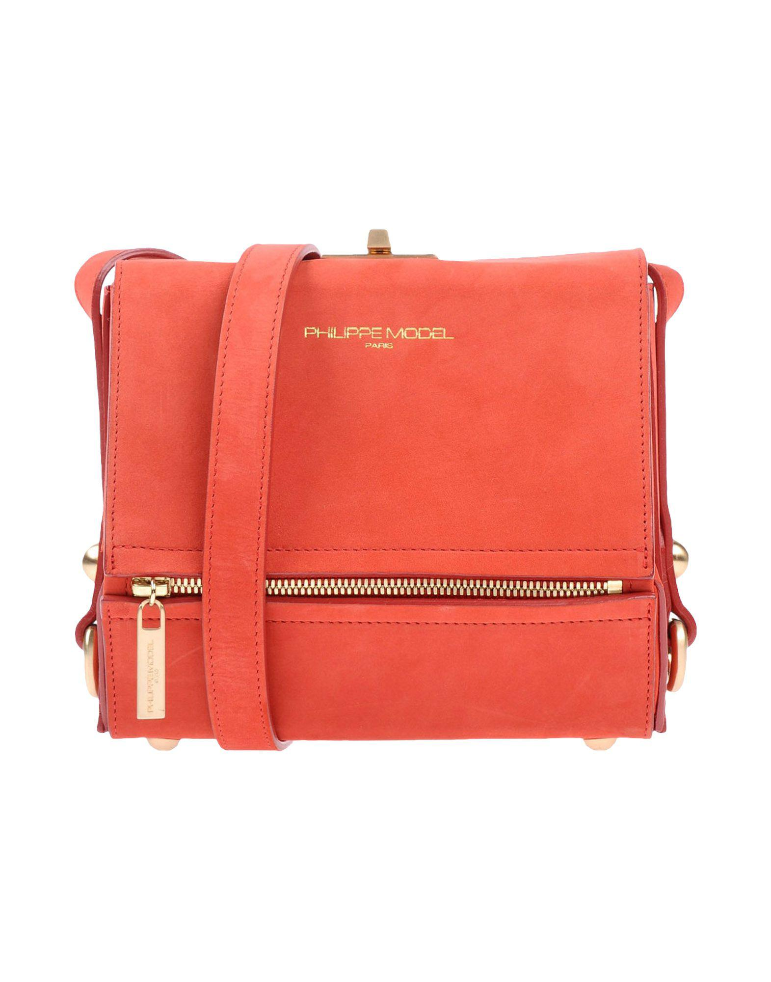 Body Philippe In Model Cross Red Lyst Bag zxpWwTqzat