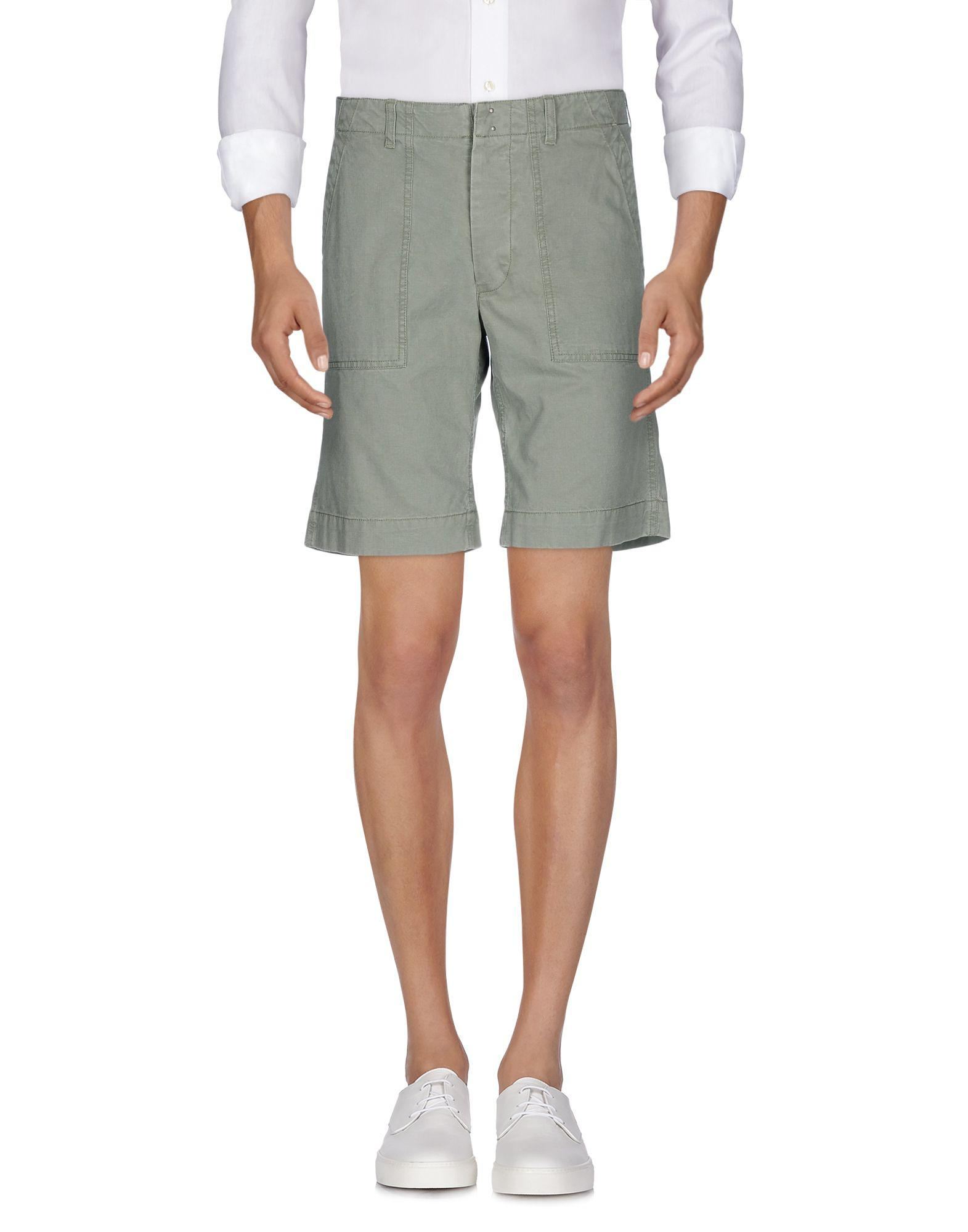 TROUSERS - Bermuda shorts Officine Generale Sale Pictures Cheap Classic xuWbYp