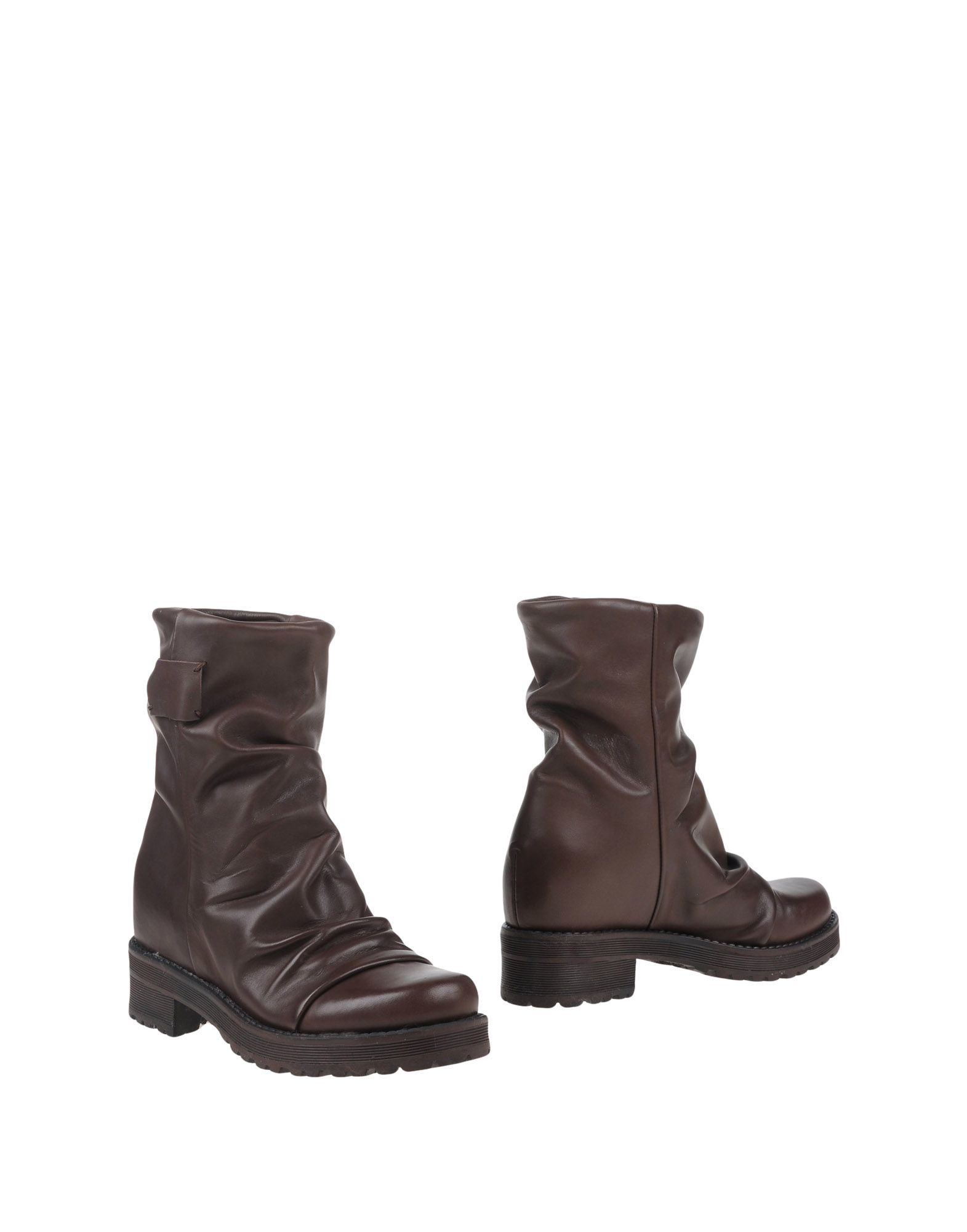 versace ankle boots in brown brown lyst