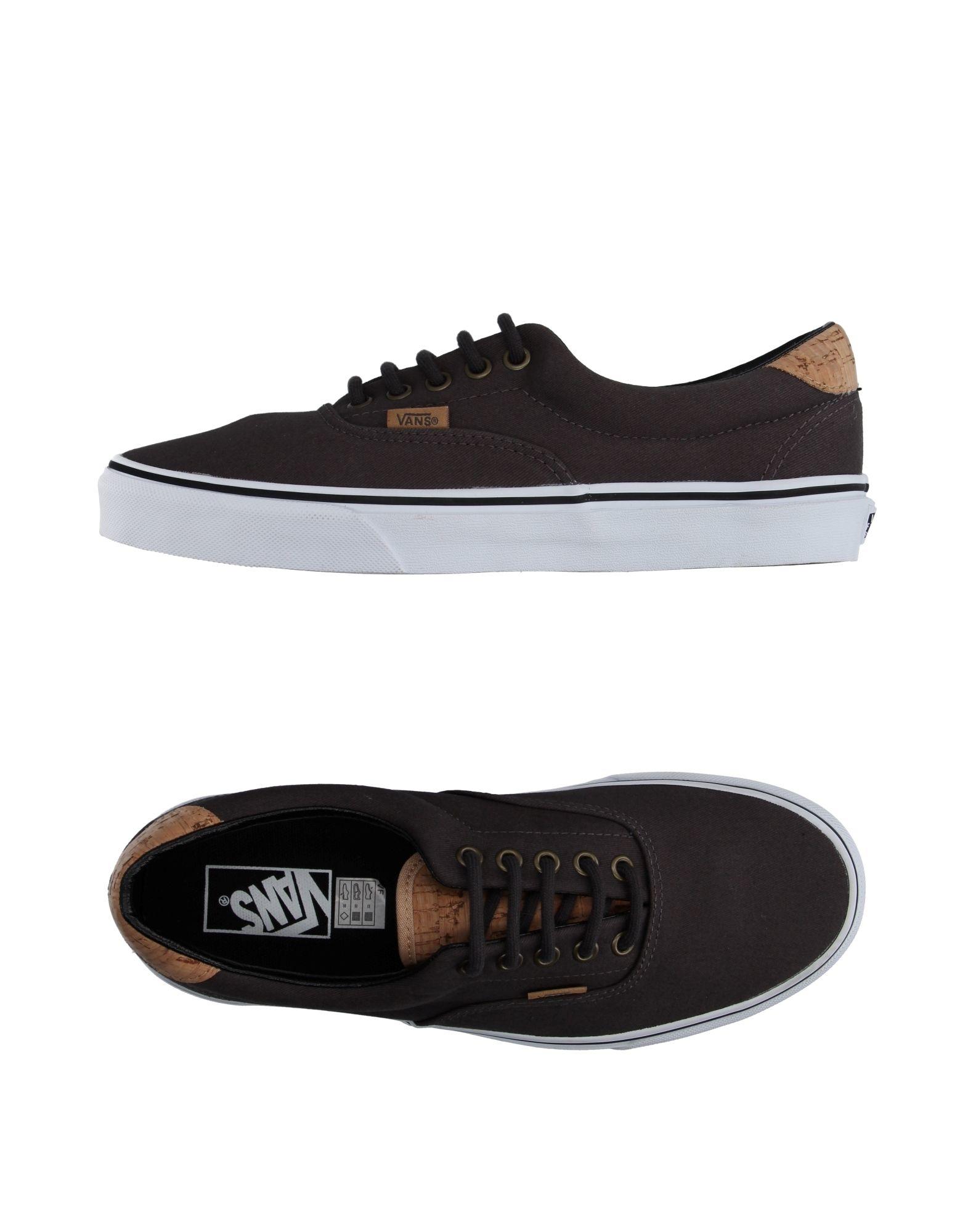 vans low tops sneakers in black lyst. Black Bedroom Furniture Sets. Home Design Ideas