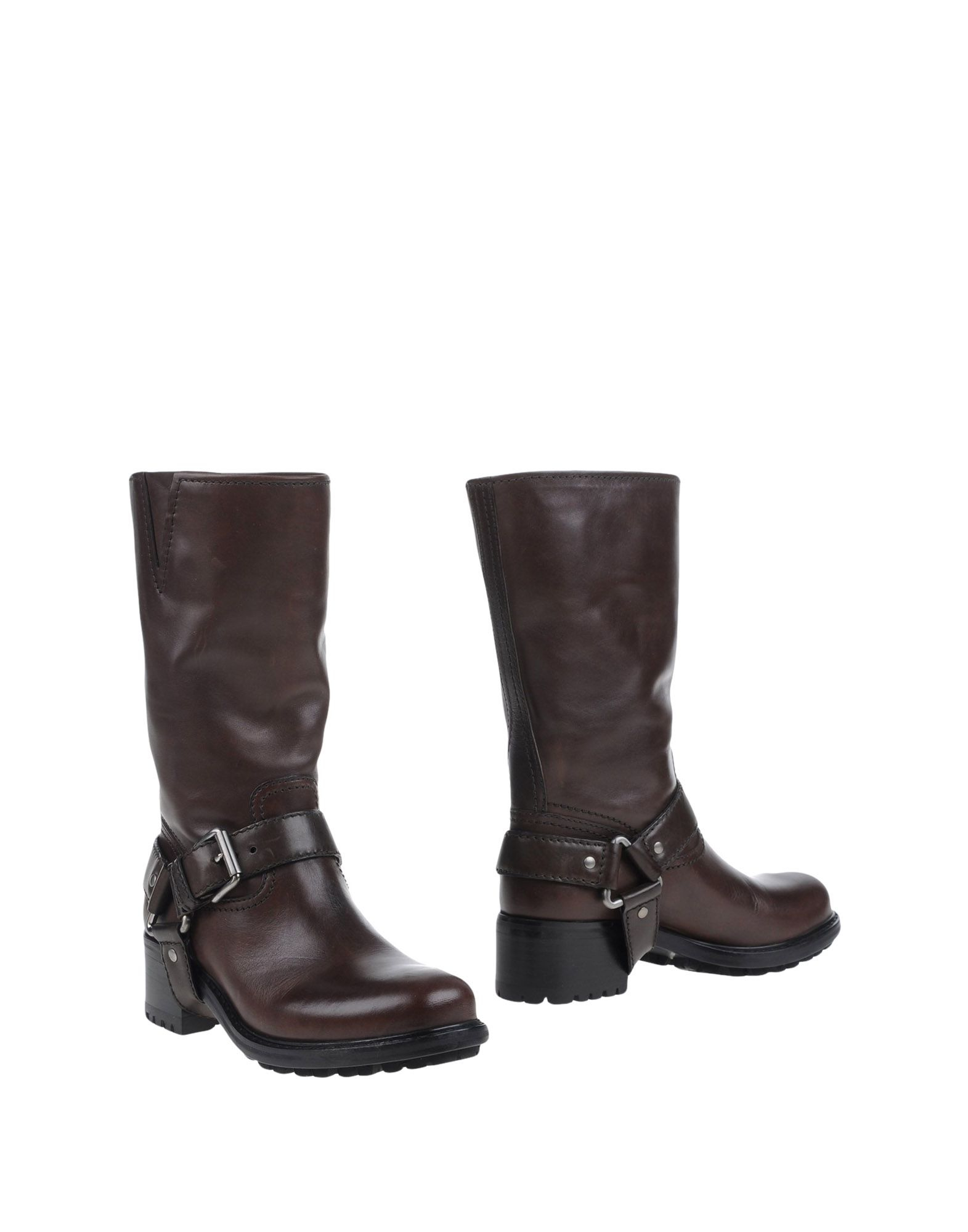 car shoe boots in brown lyst