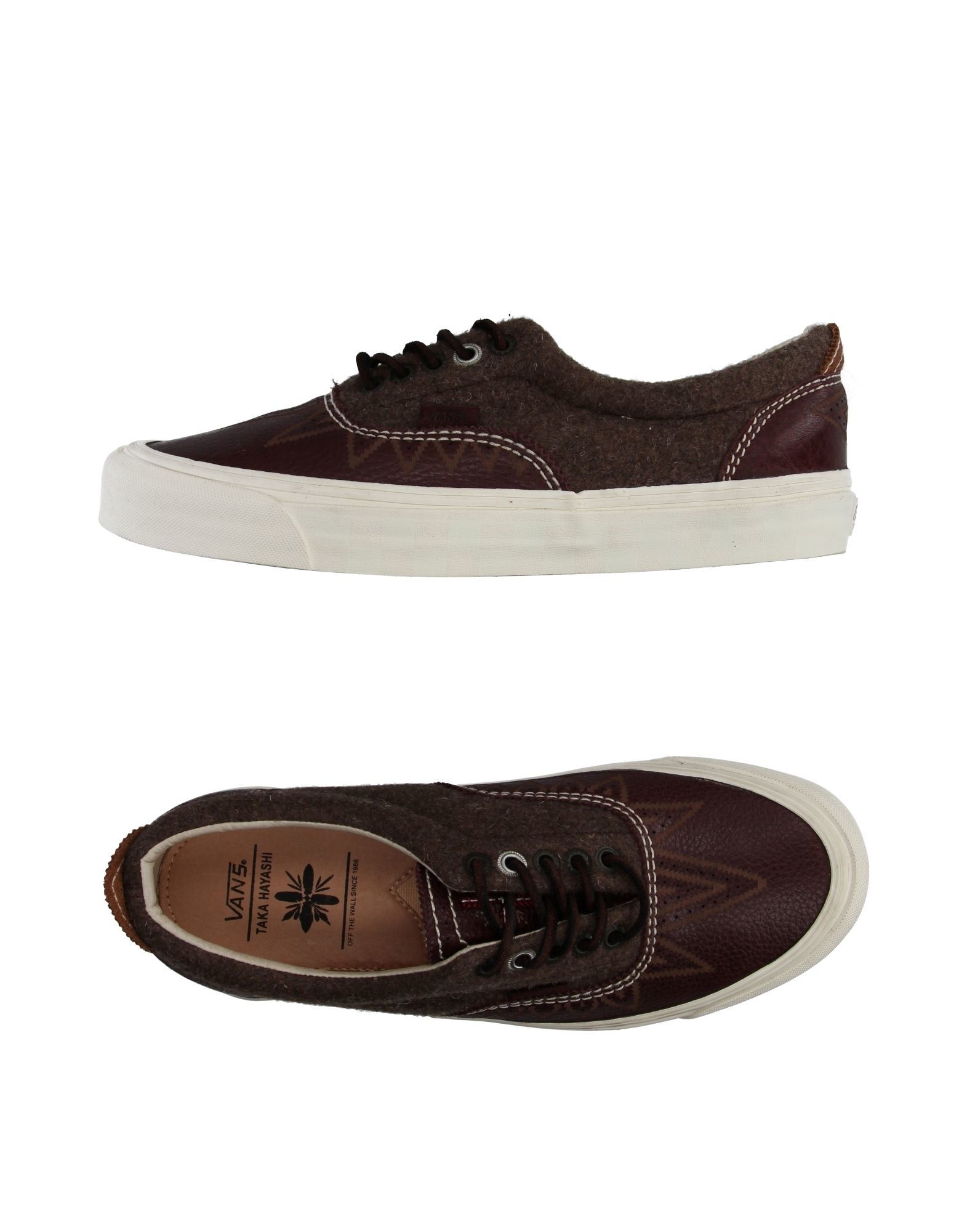 vans low tops trainers in purple lyst. Black Bedroom Furniture Sets. Home Design Ideas
