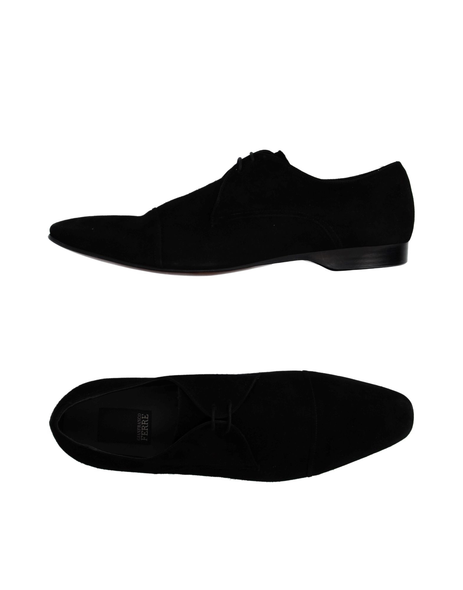 gianfranco ferr 233 lace up shoes in black for lyst