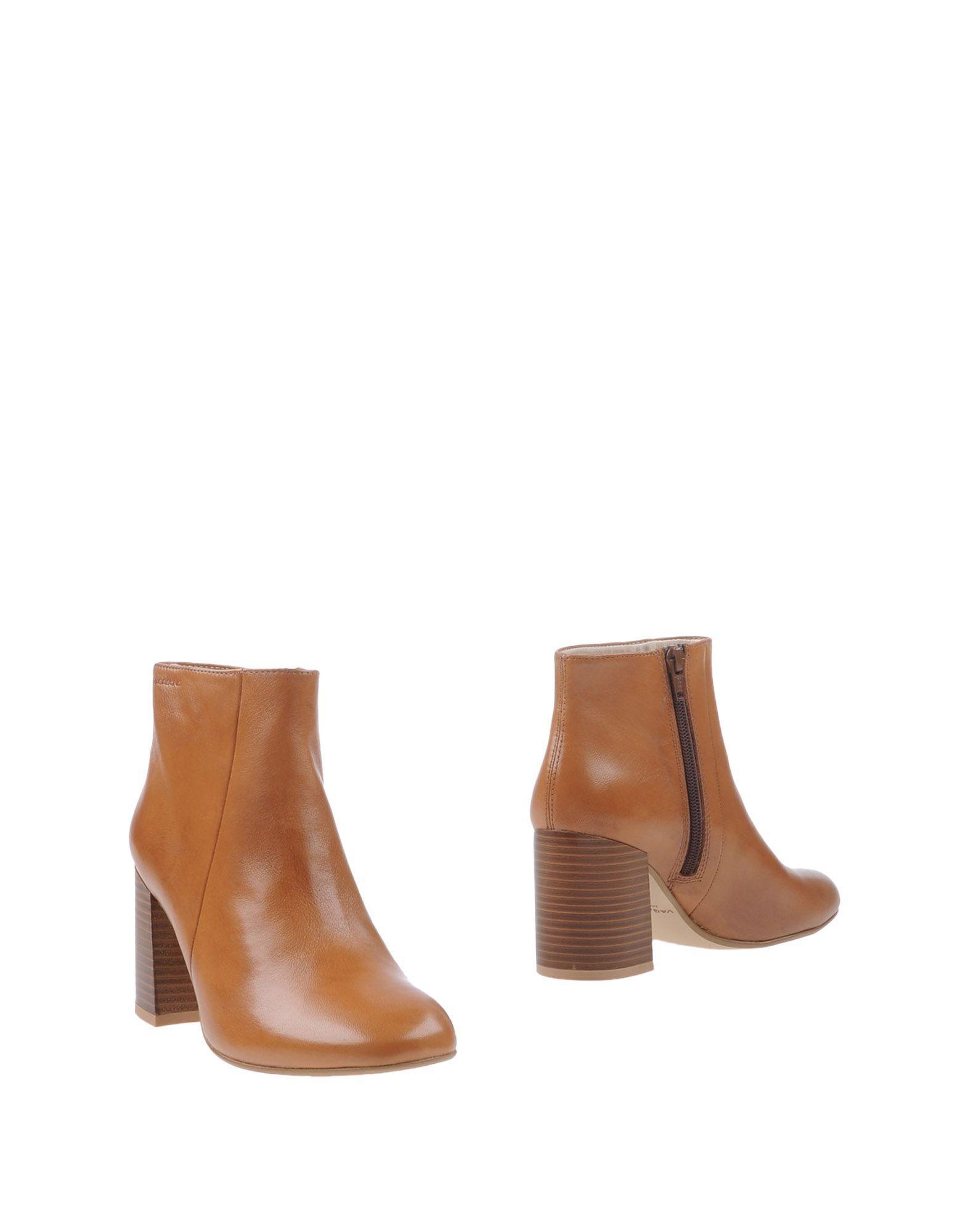 lyst vagabond ankle boots in brown. Black Bedroom Furniture Sets. Home Design Ideas