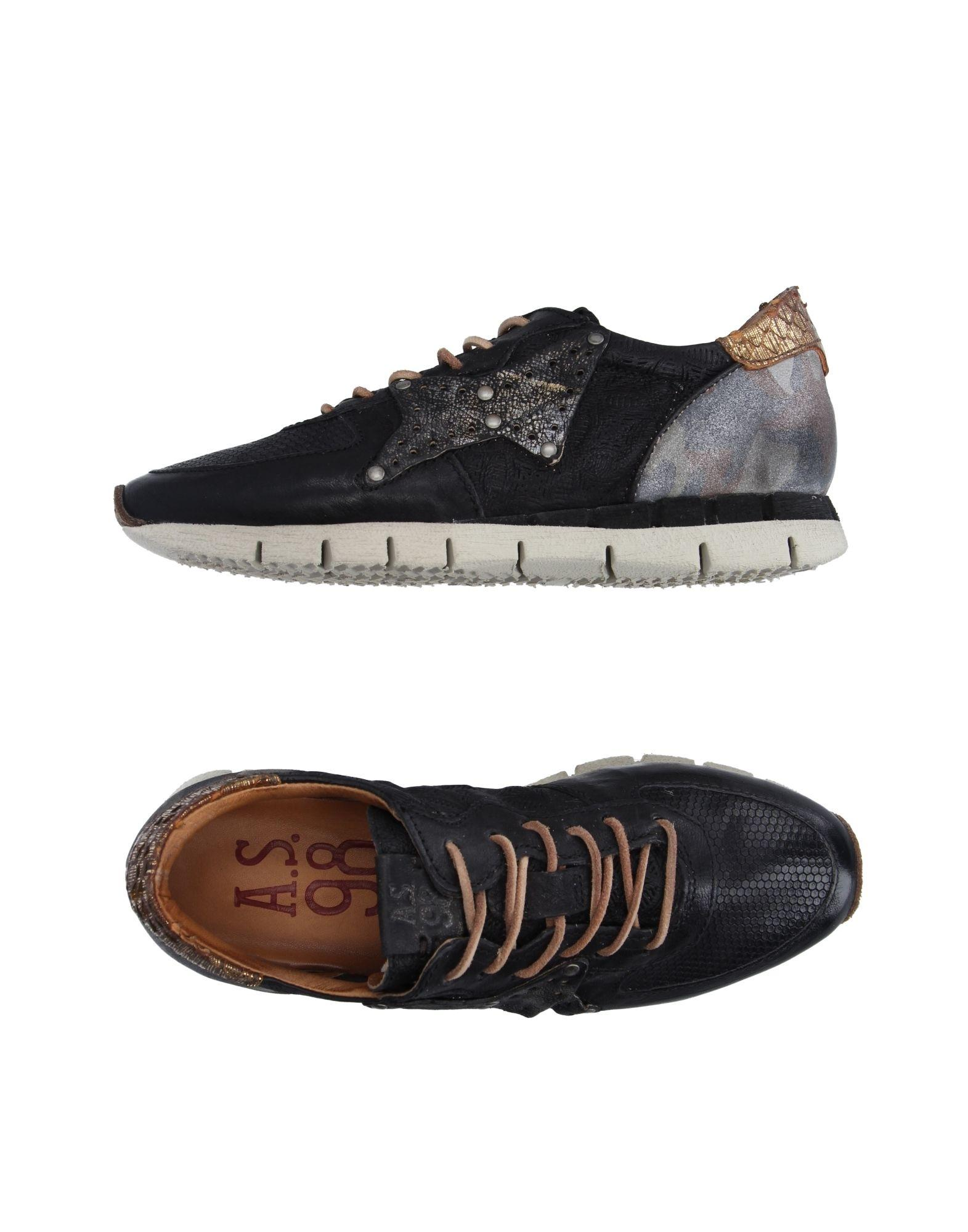 Lyst A S 98 Low Tops Amp Sneakers In Black For Men