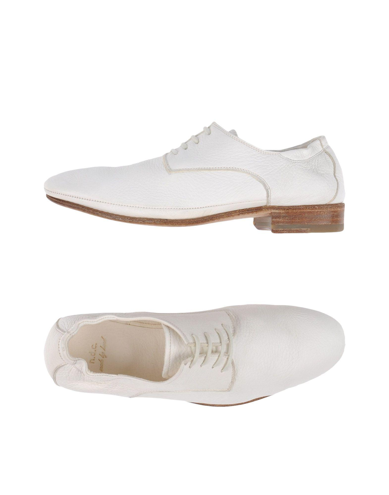 n d c made by lace up shoe in white for lyst